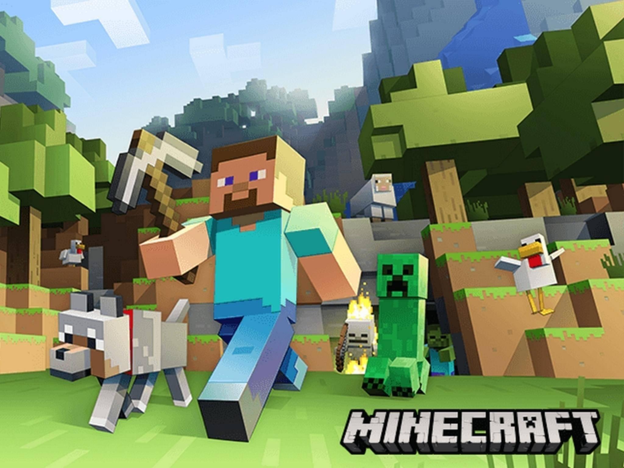 """""""Minecraft"""" wird auch für die Samsung Gear VR erscheinen."""