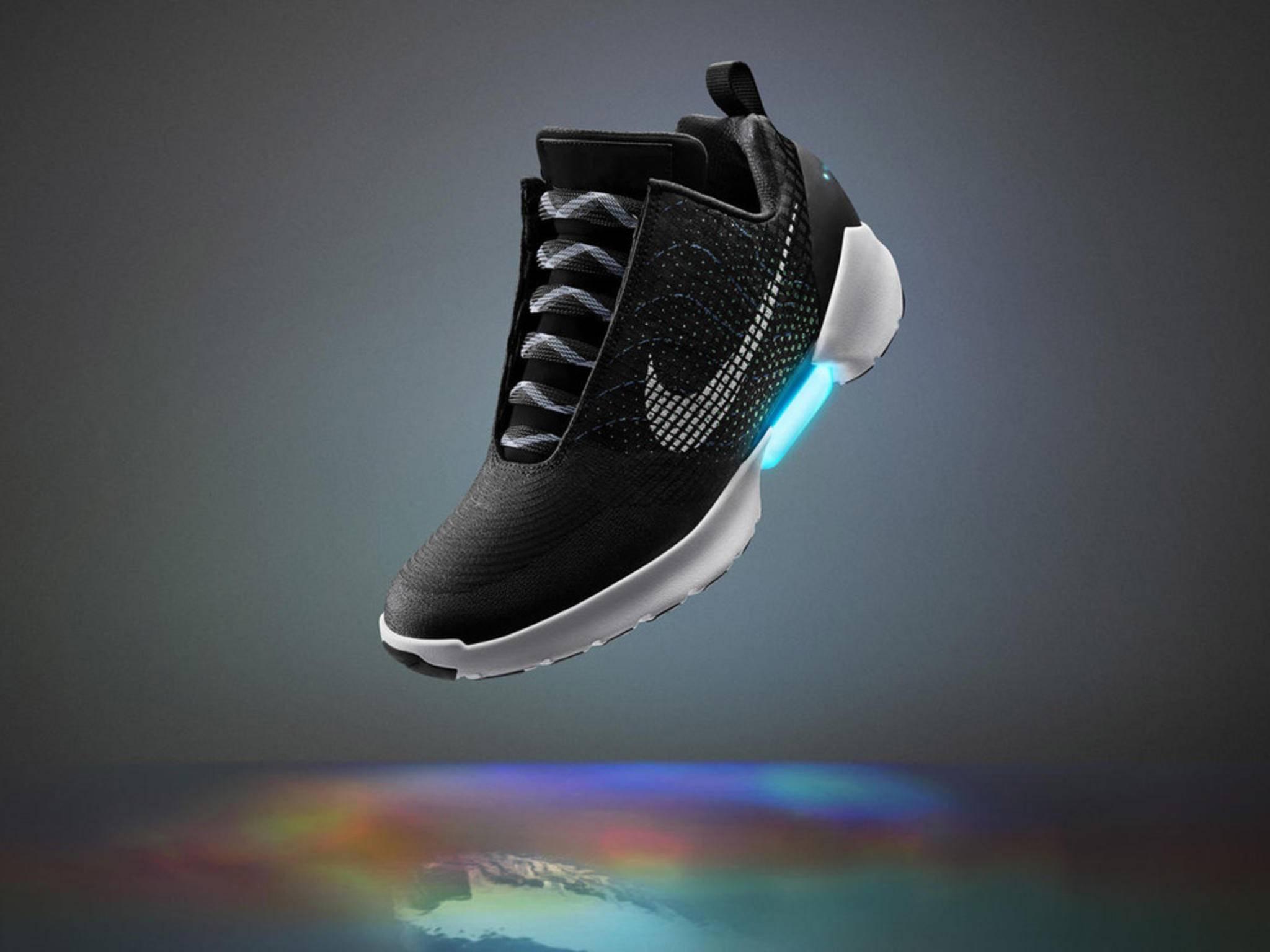 HyperAdapt 1.0: Nike veröffentlicht selbstschnürende Schuhe zu Weihnachten.