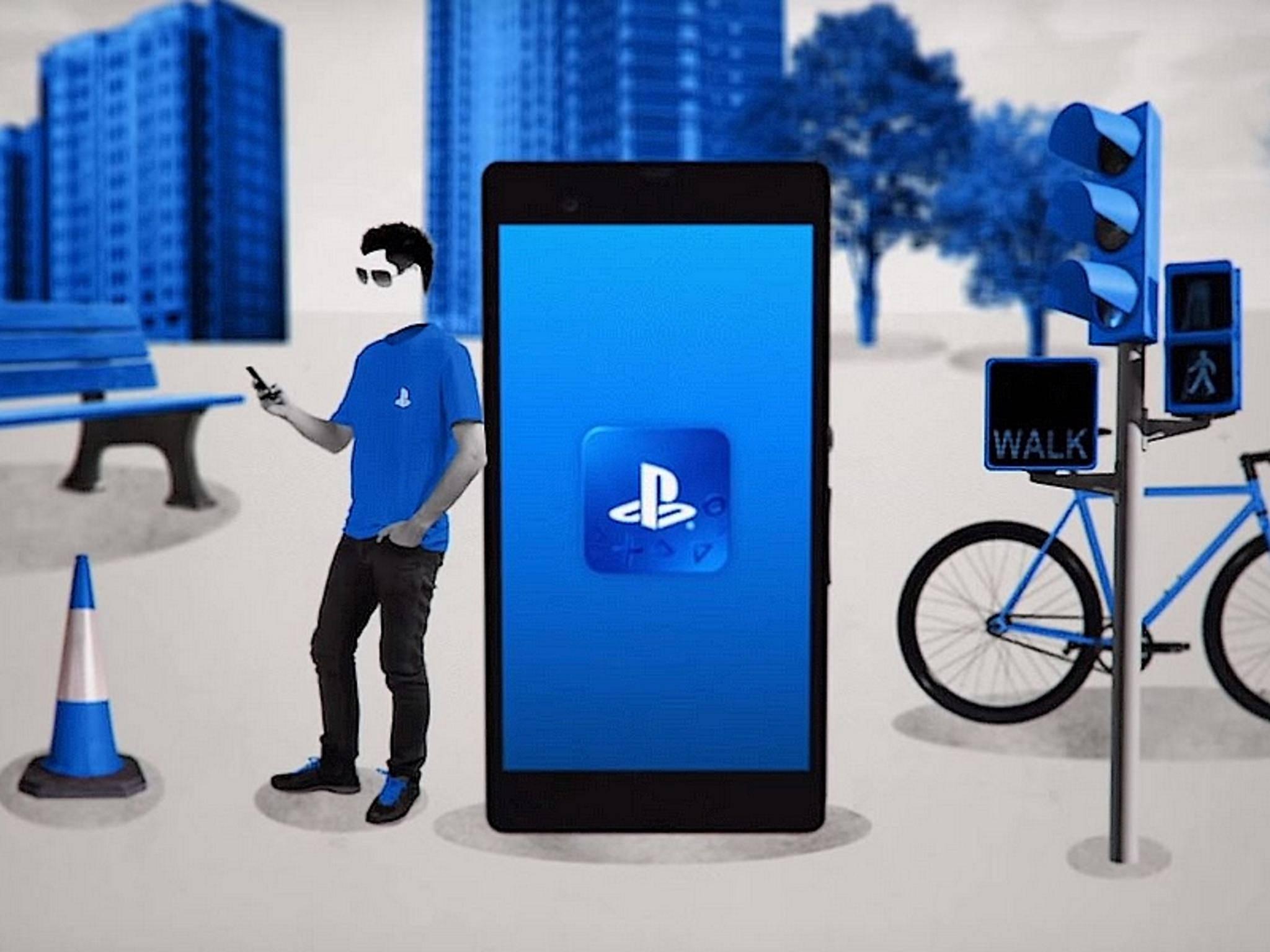 Erobern PlayStation-Spiele bald das Smartphone?