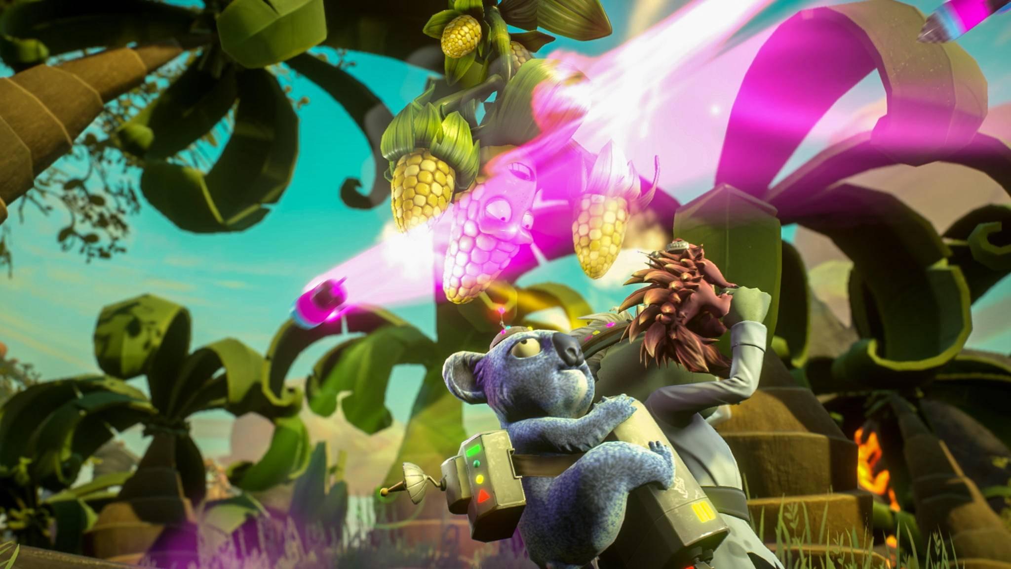 """""""Plants vs Zombies: Garden Warfare 2"""" setzt wieder auf bunte Knuddel-Grafik."""