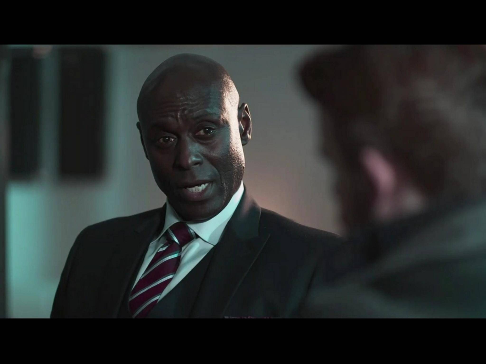 "Lance Reddick (""The Wire"", ""Fringe"", ""Bosch"")..."