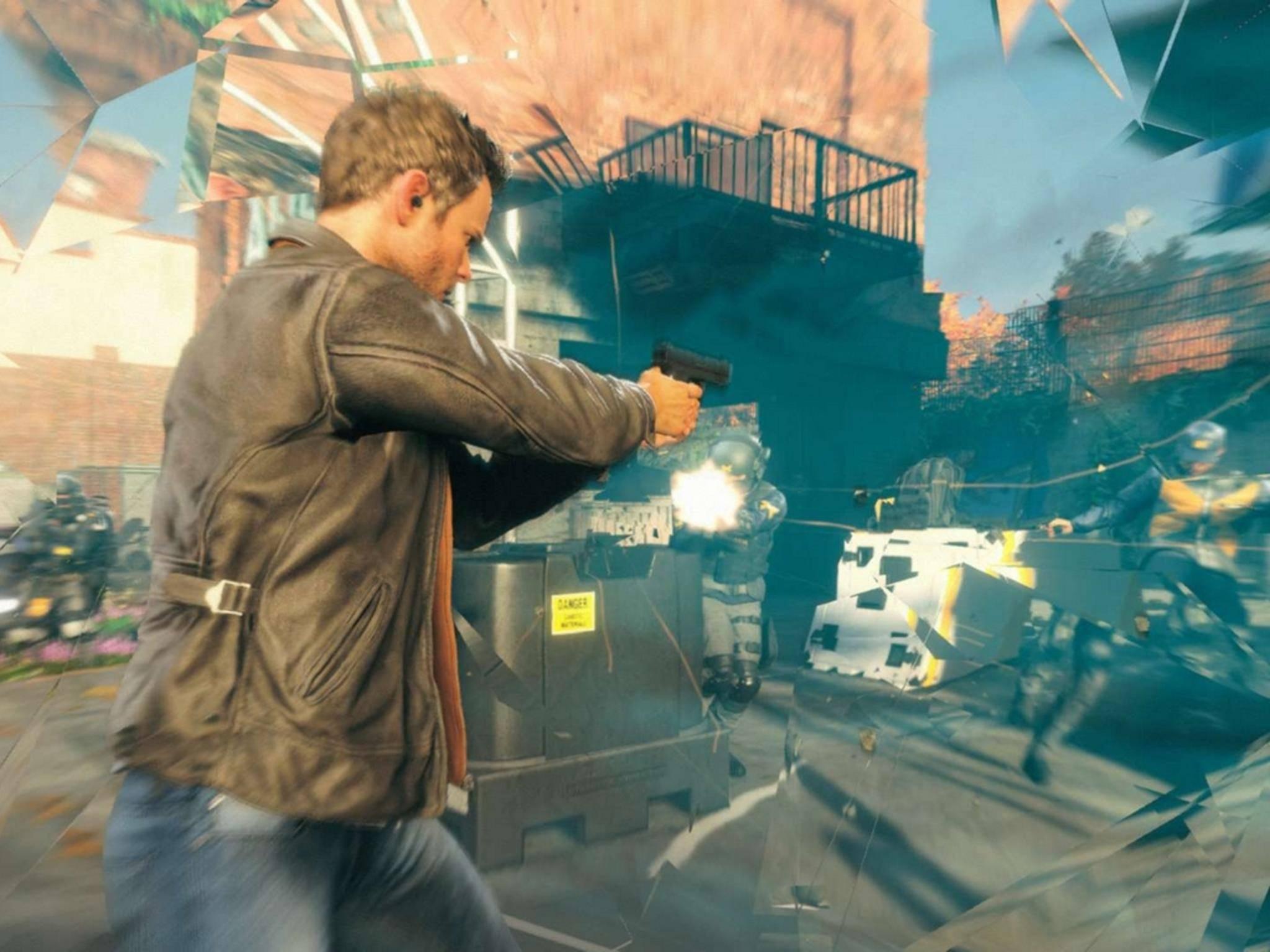"""""""Quantum Break"""" ist ein wahres Action-Feuerwerk."""