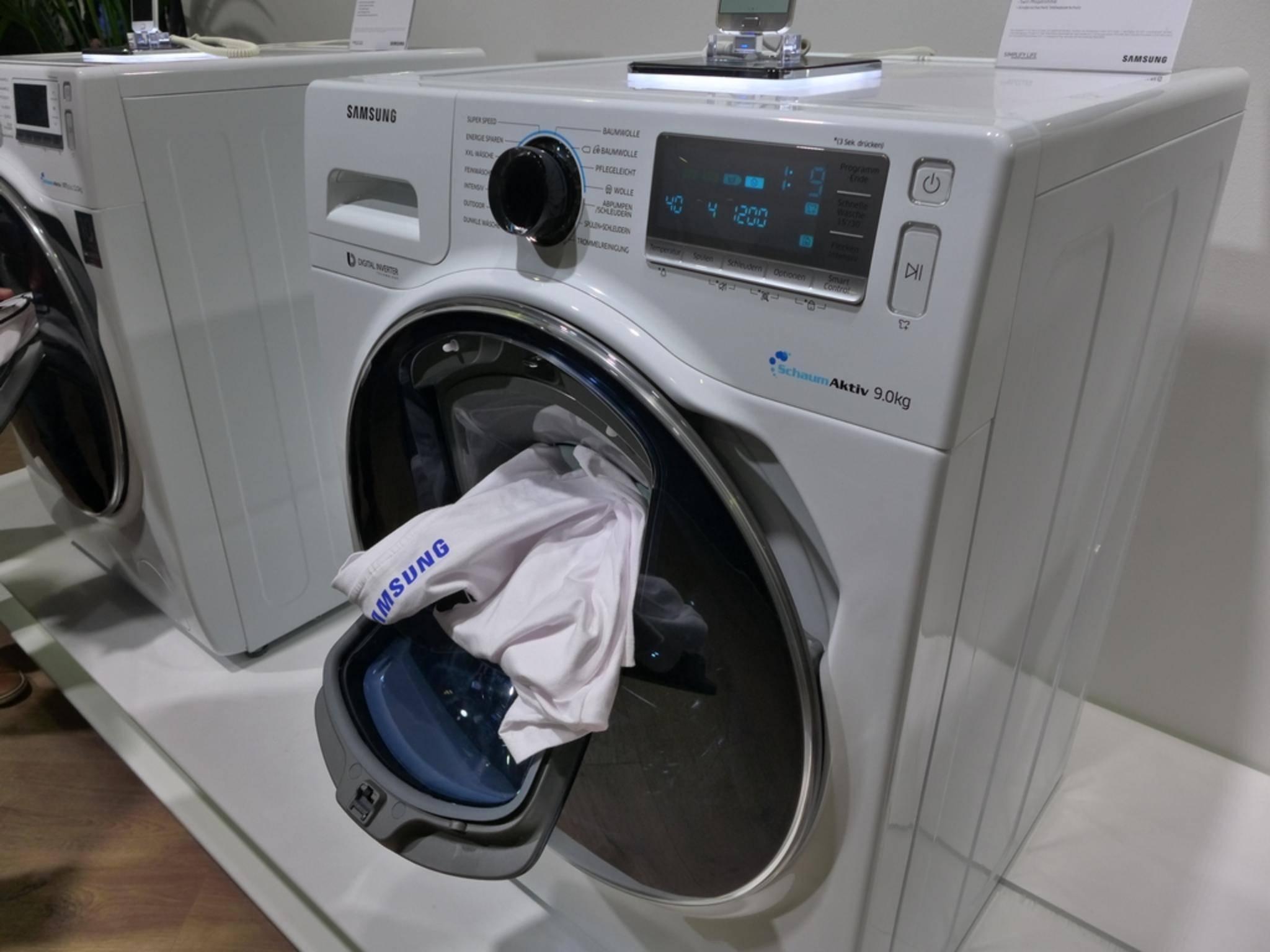 Nur Samsungs Toplader-Waschmaschinen sind vom Problem betroffen, nicht die Frontlader-Geräte.