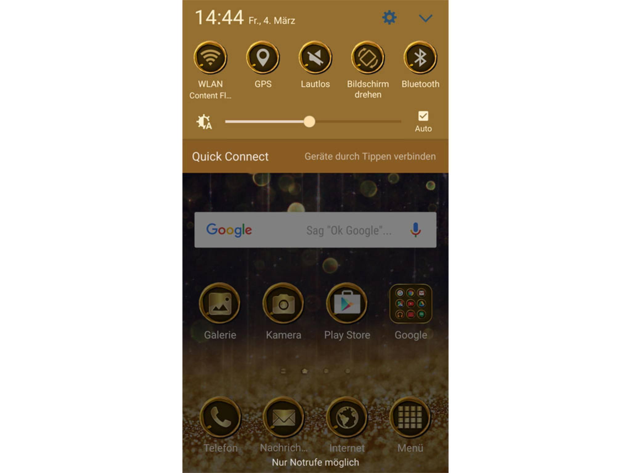 Sie verändern unter anderem Hintergrund und App-Icons des Smartphones.
