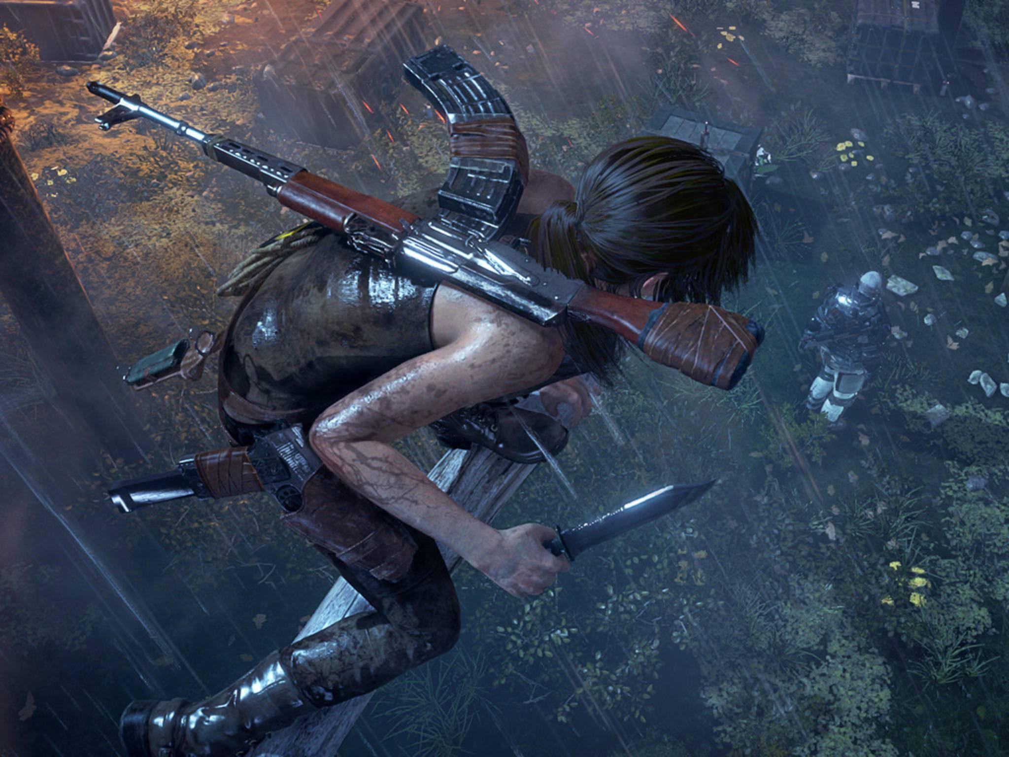 """Lara Croft hüllenlos in """"Tomb Raider"""": """"Leider"""" nur ein Mythos."""
