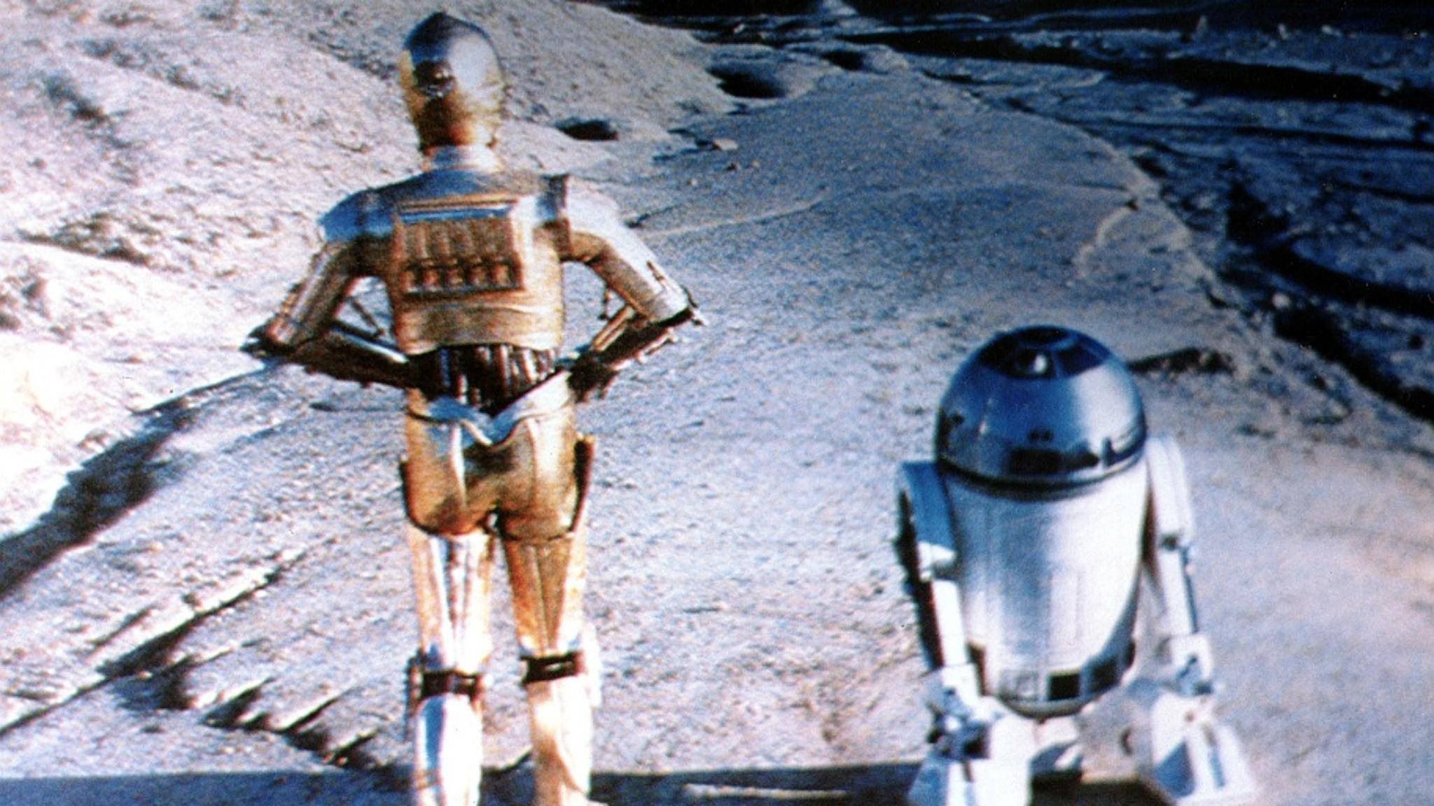 """Fast wären R2-D2 und C-3PO in """"Star Wars: Droids"""" alleine auf die Reise gegangen."""
