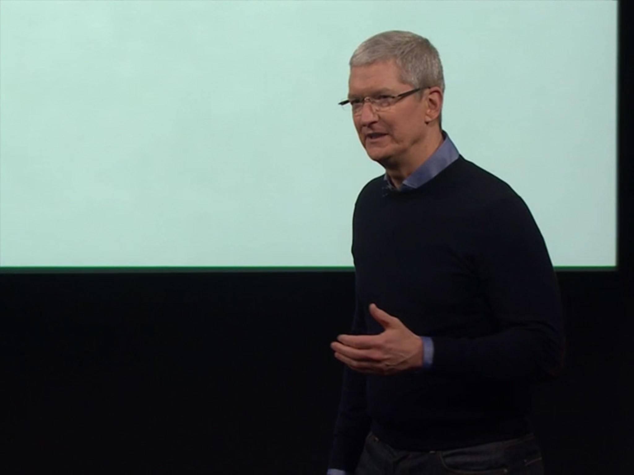 Was wird außer dem iPhone SE heute enthüllt?