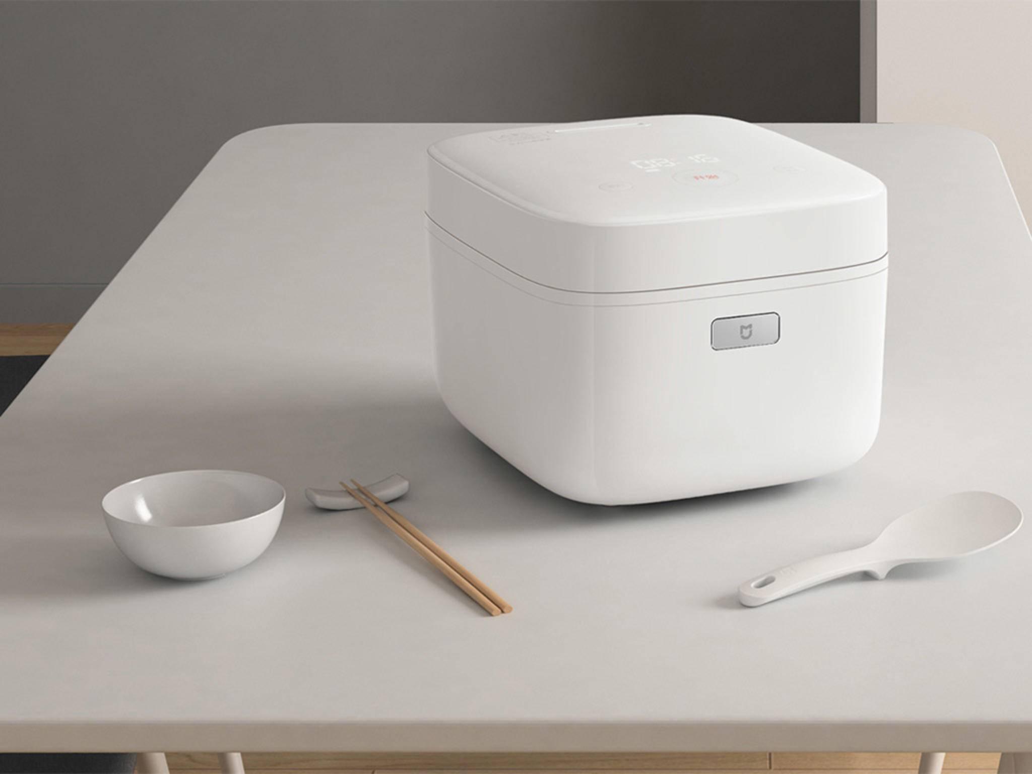 Der smarte Reiskocher von Xiaomi verspricht ein optimales Kochergebnis.