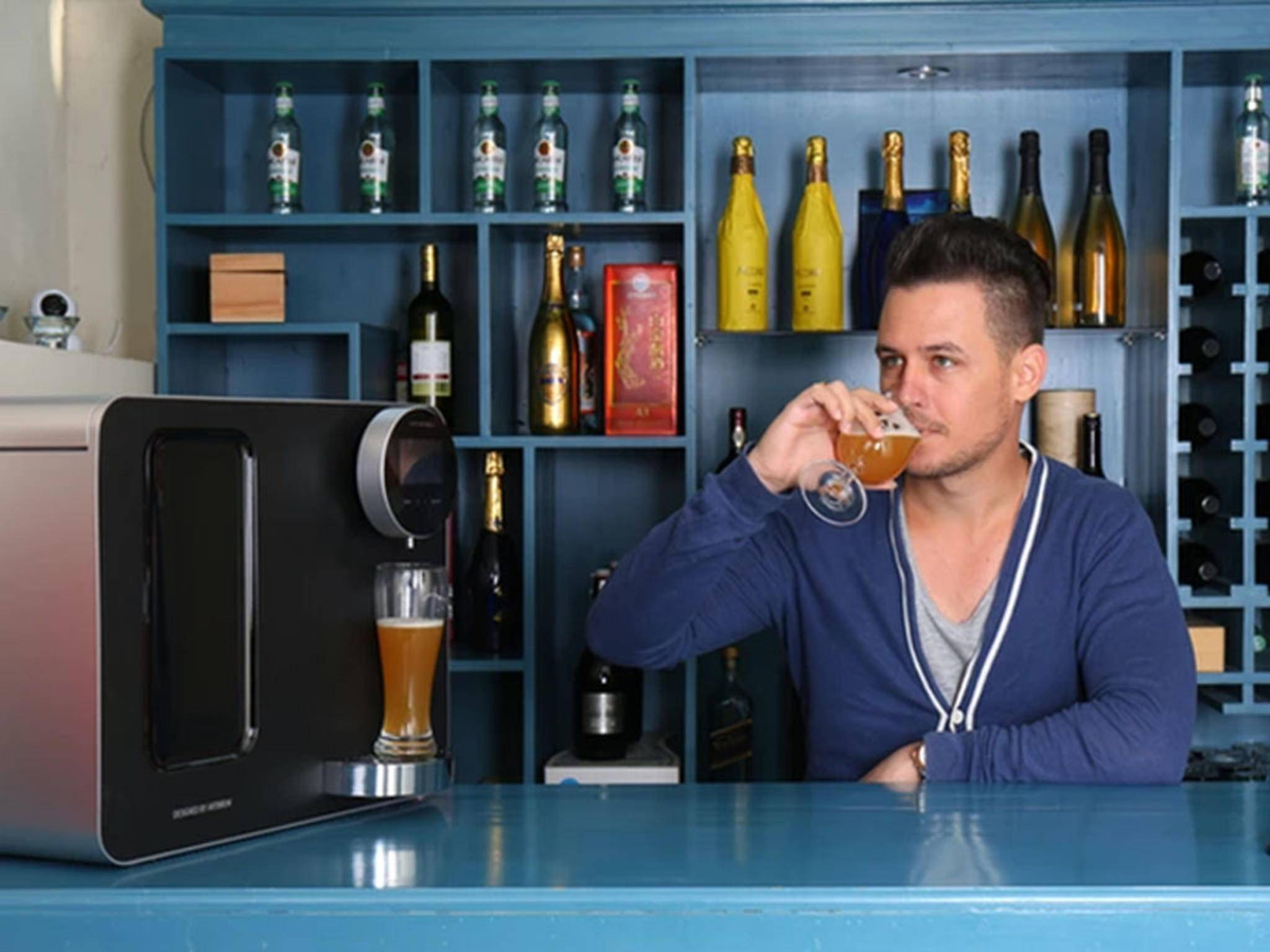 Mit Artbrew kann man das eigene Bier in der Hausbar genießen.