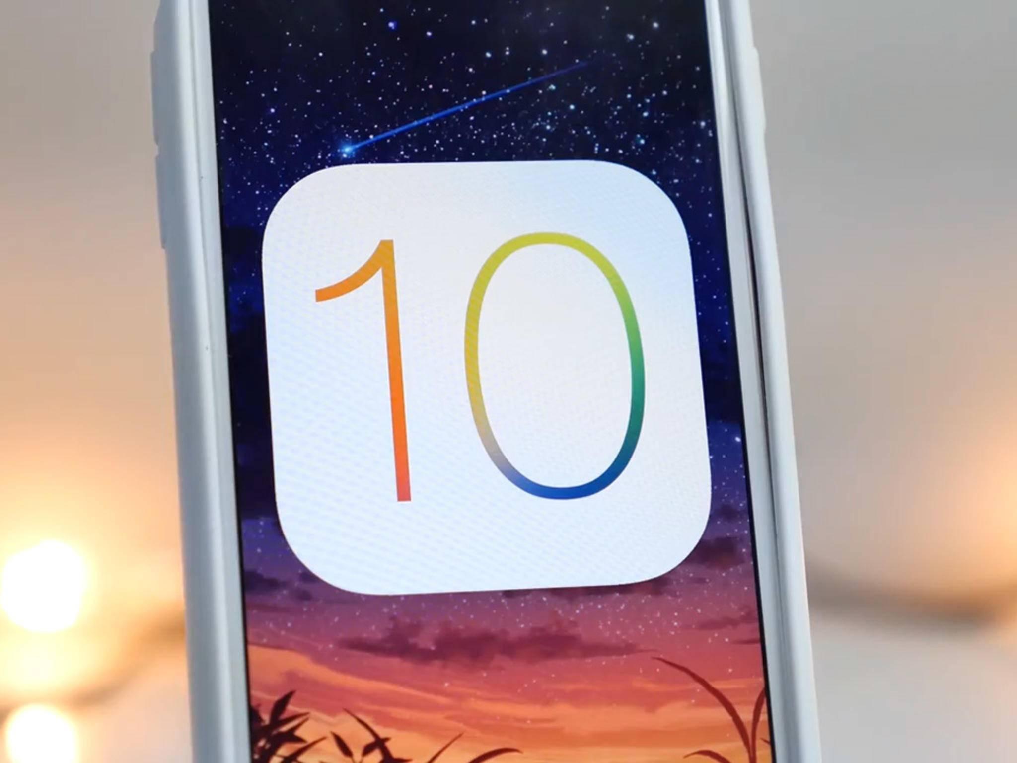 iOS 10 wird am Montag auf der WWDC 16 vorgestellt.