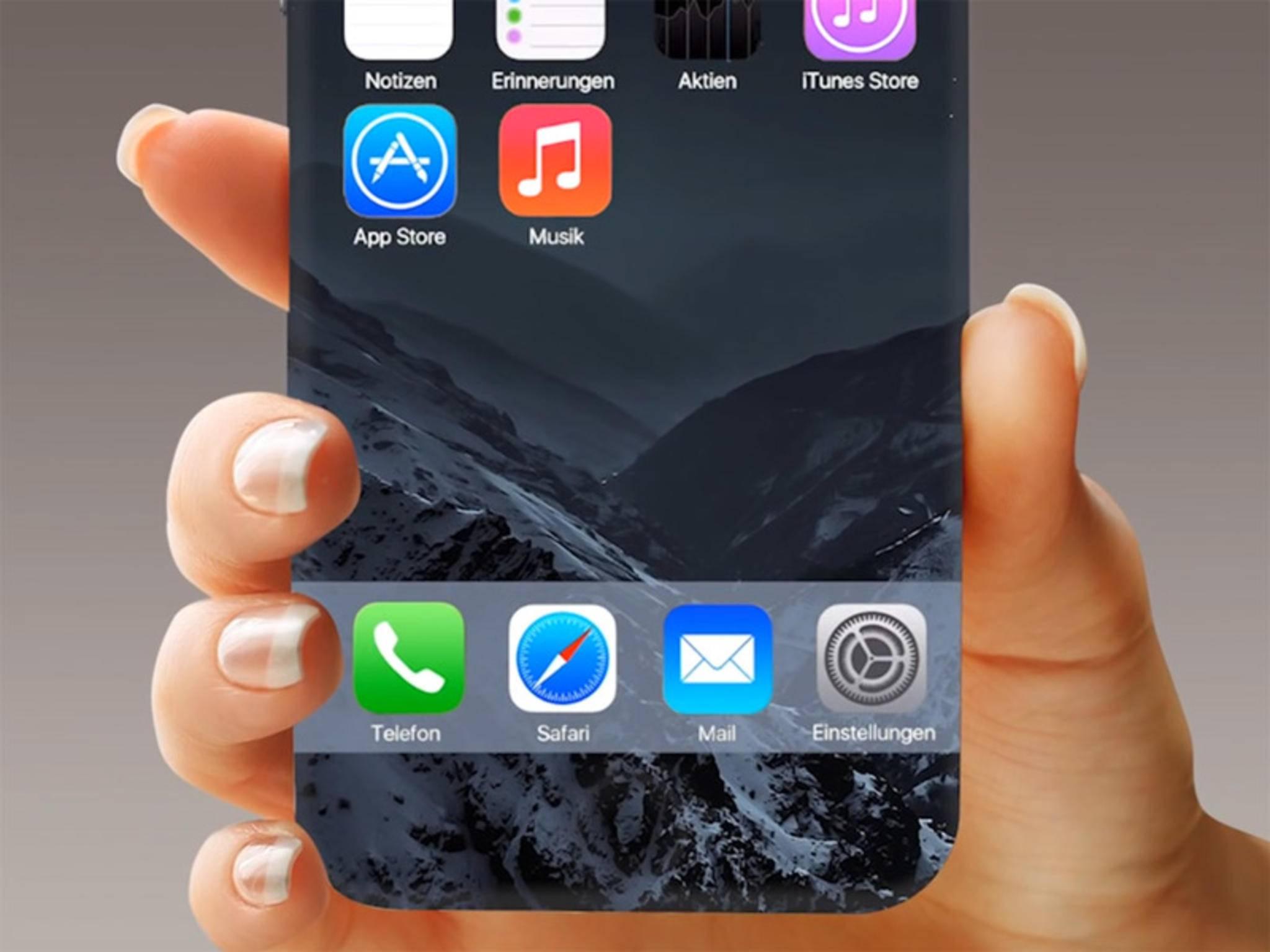 iPhone-Konzepte ohne Home-Button gibt es bereits viele.