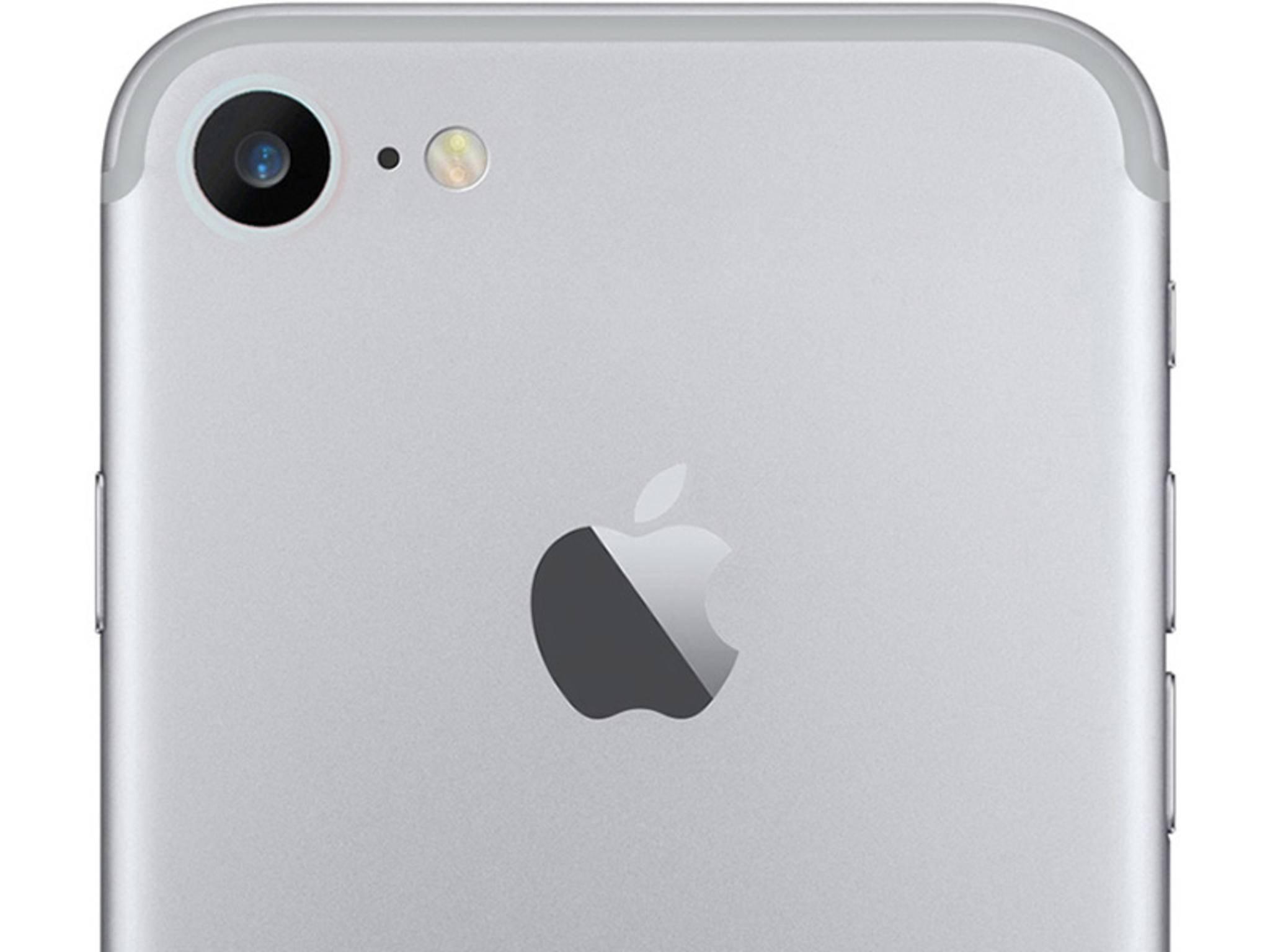 Das iPhone 7 könnte eine deutlich größere Kamera bekommen.