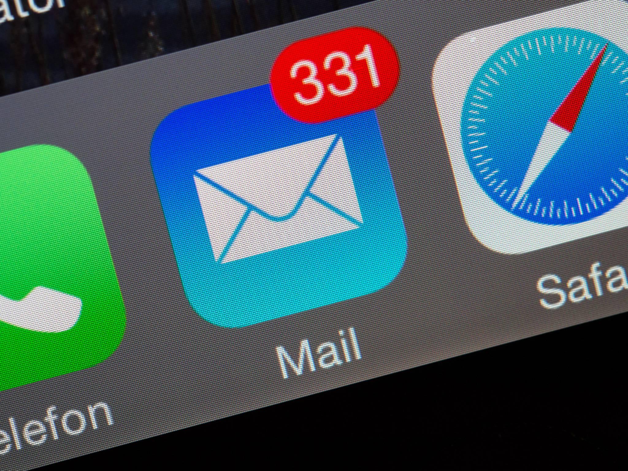 Manche iPhone-Nutzer bekamen Mails aus dem Jahr 1970.