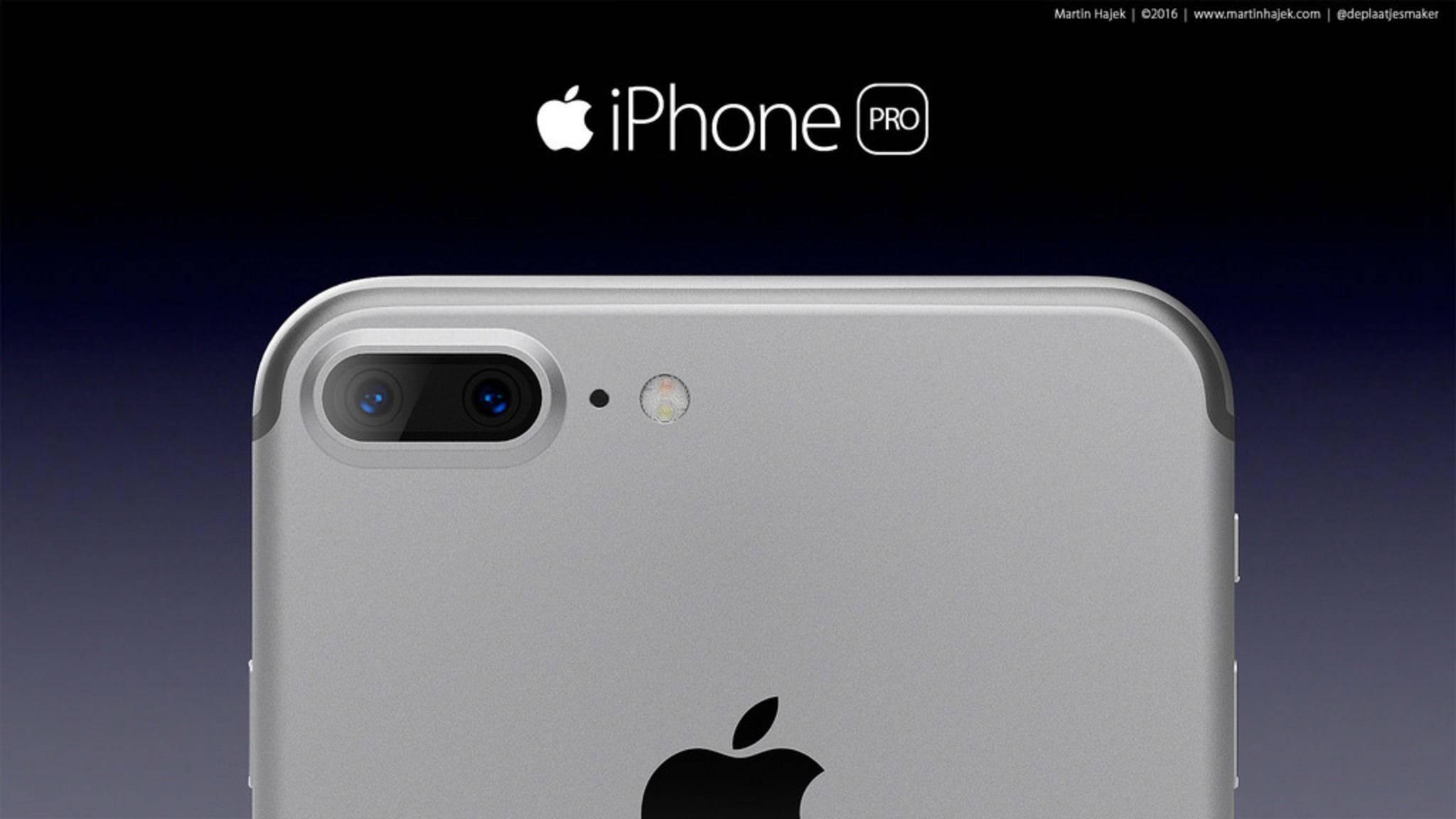 So könnte die Dual-Kamera im iPhone 7 Plus aussehen.