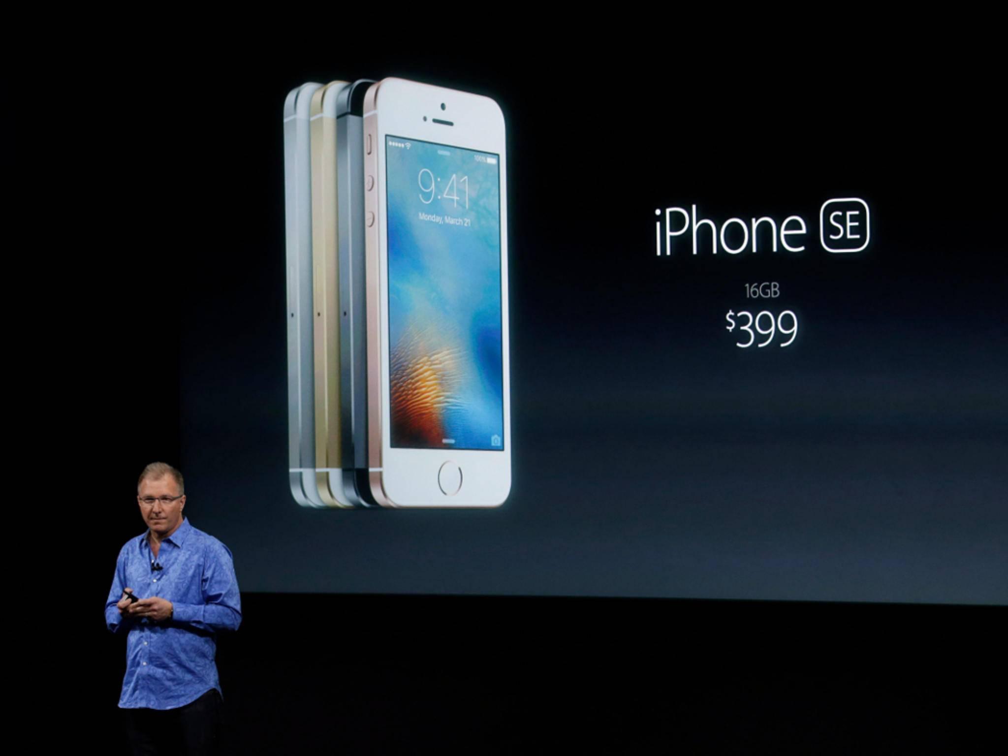 """Alle Apple-Fans können beruhigt sein: Die Bedeutung des """"SE"""" ist geklärt."""