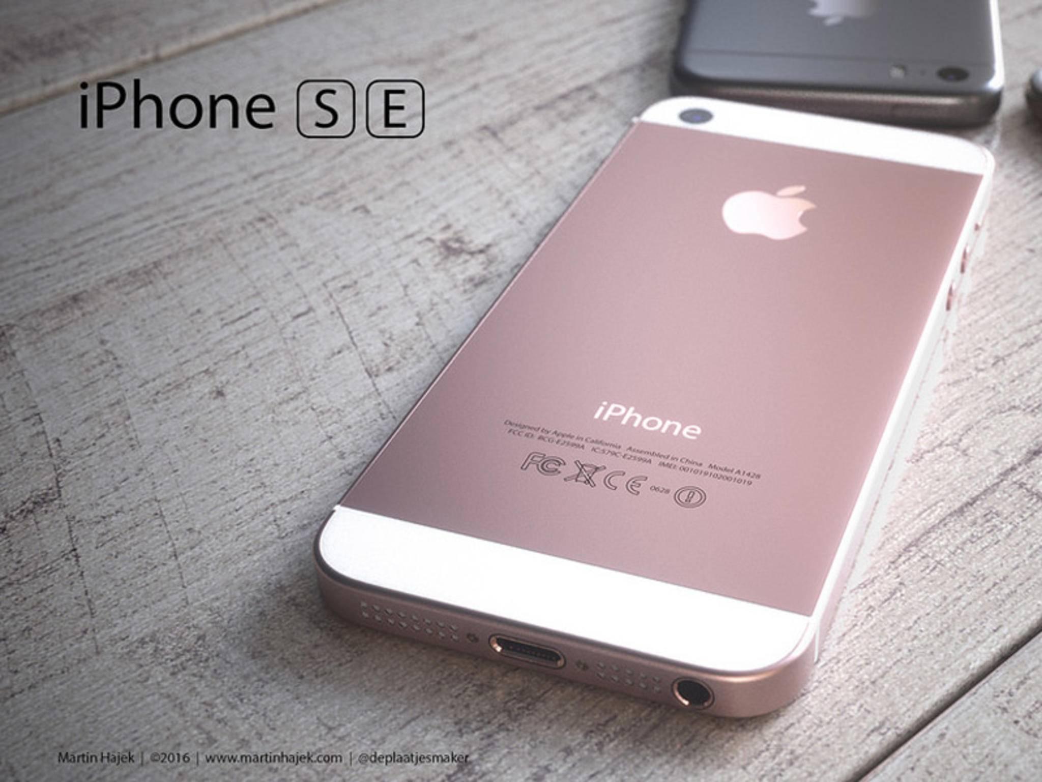 Das iPhone SE dürfte in Kürze gezeigt werden.