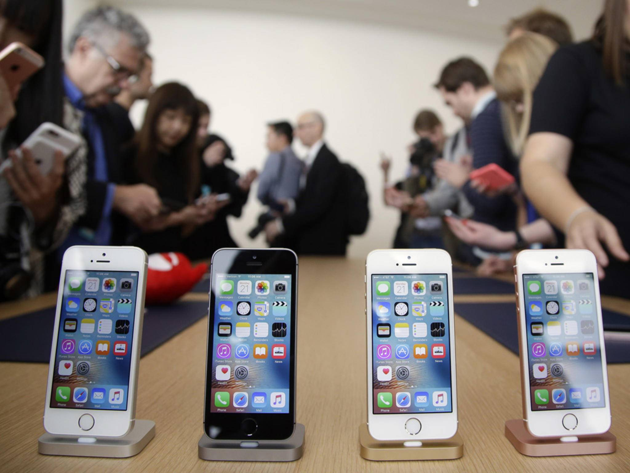 Seit heute kann das iPhone SE vorbestellt werden.
