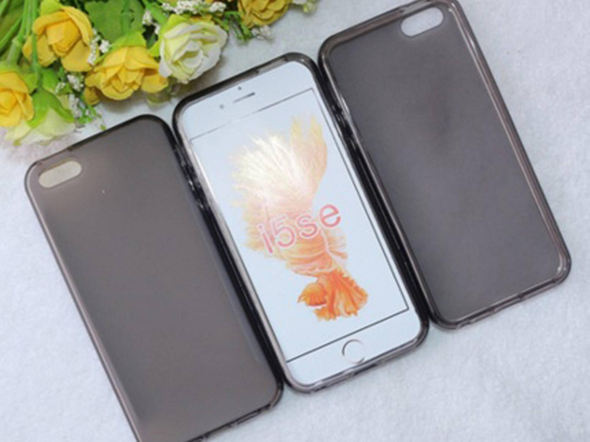 Dieses Case erinnert eher an das iPhone 5s.