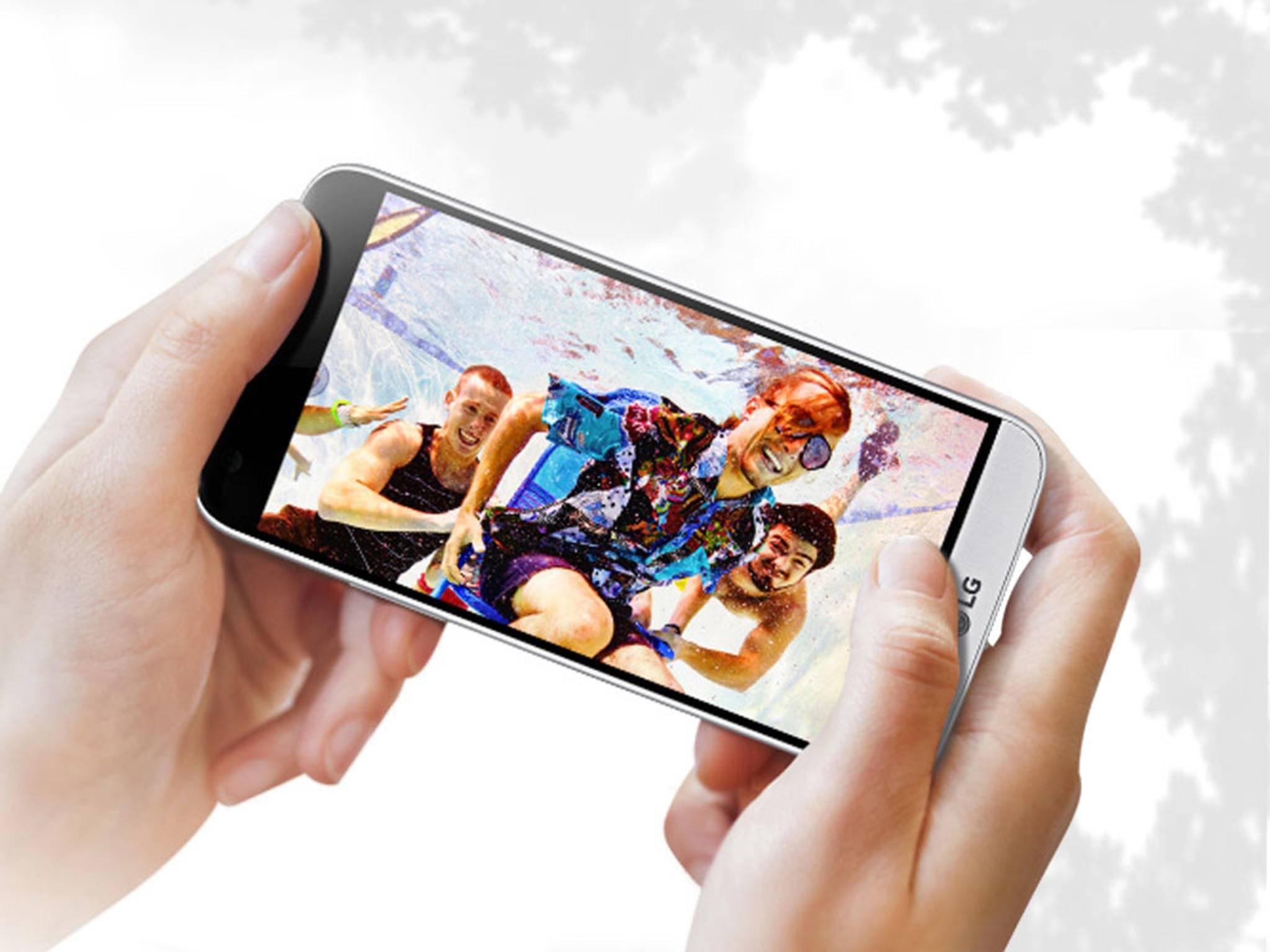 Das LG G5 kann mit Modulen erweitert werden.