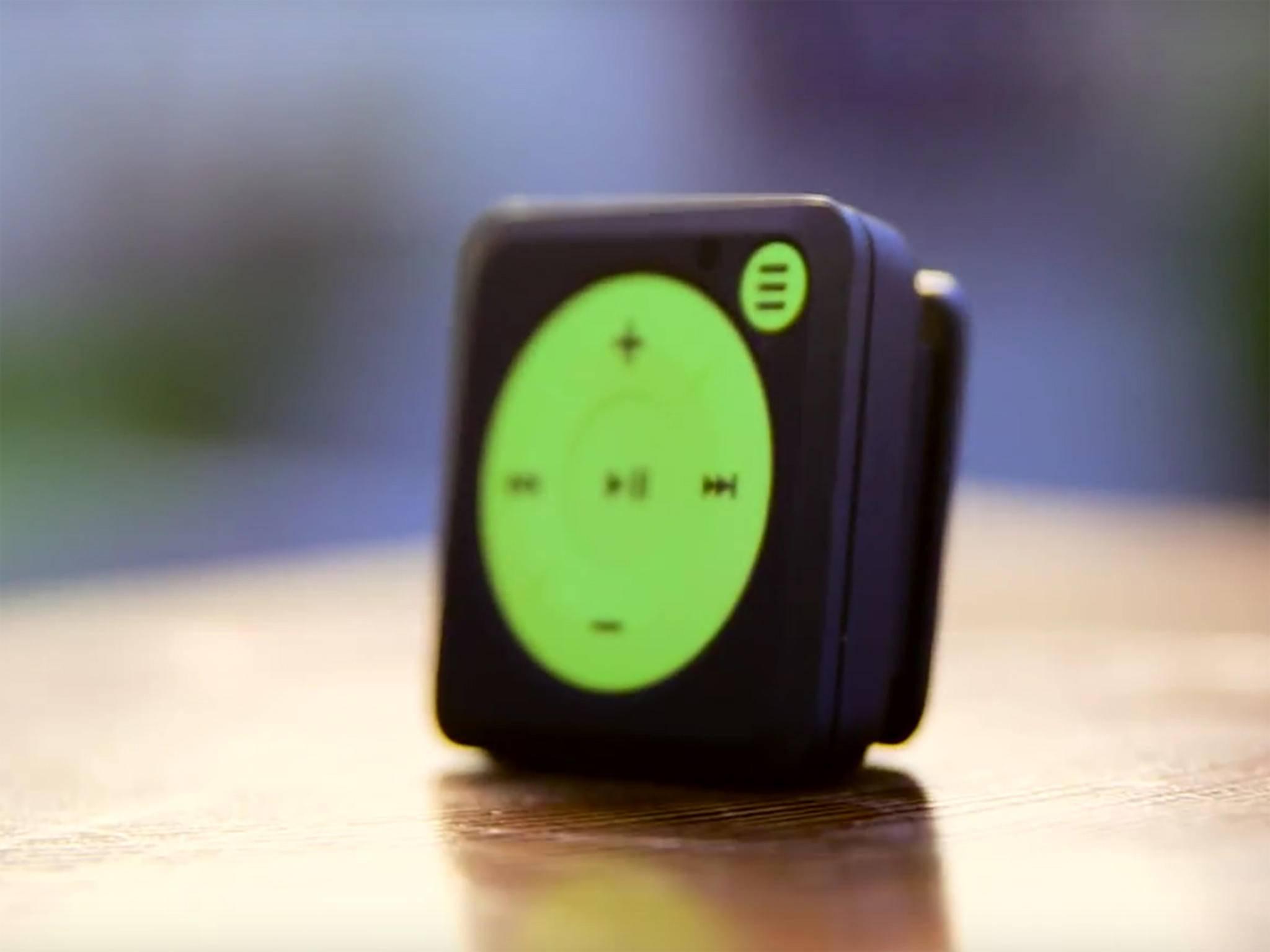 Mighty ist ein Spotify-Player im iPod shuffle-Format.