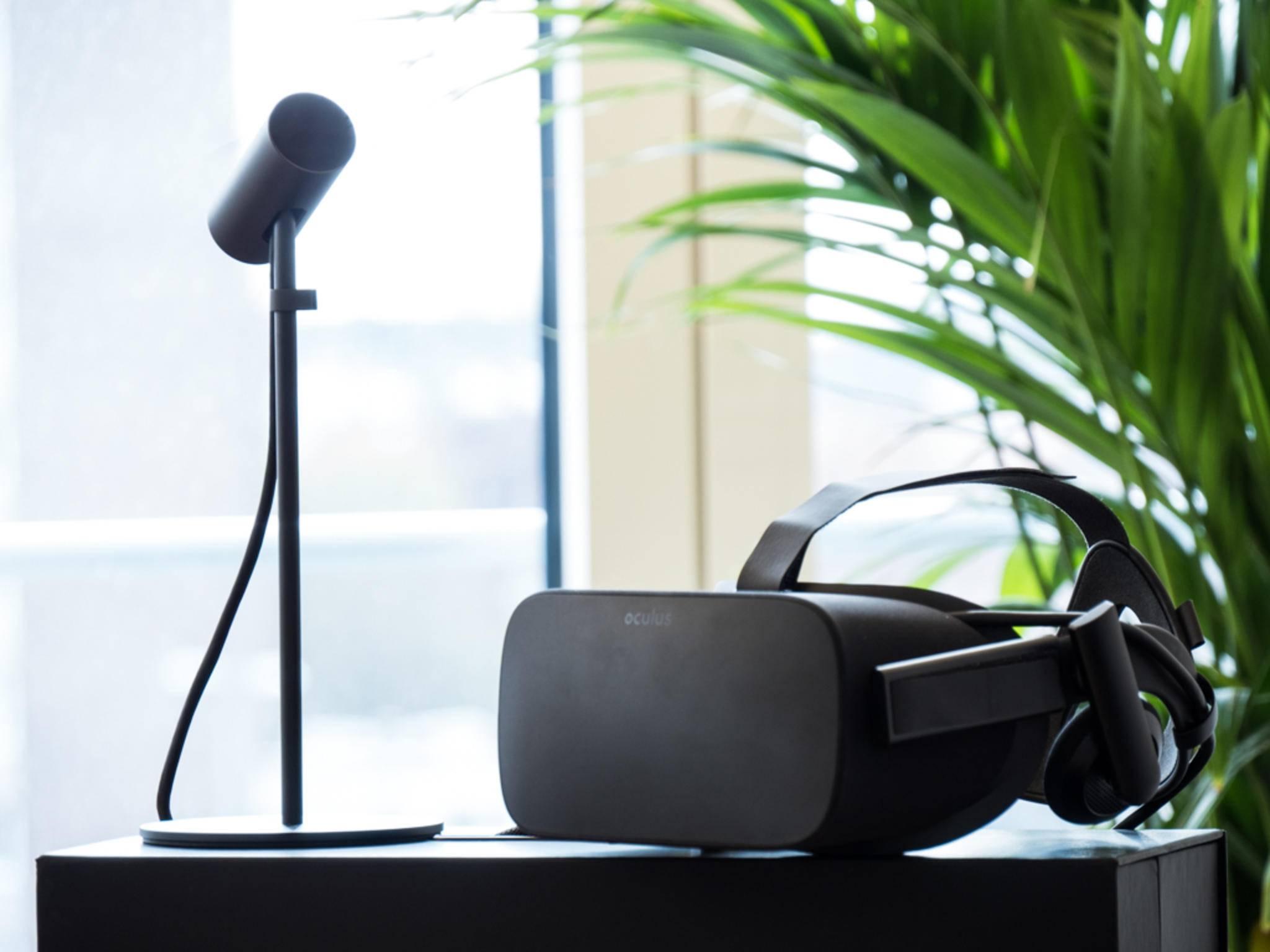 Die Oculus Rift sammelt Daten für Facebook.