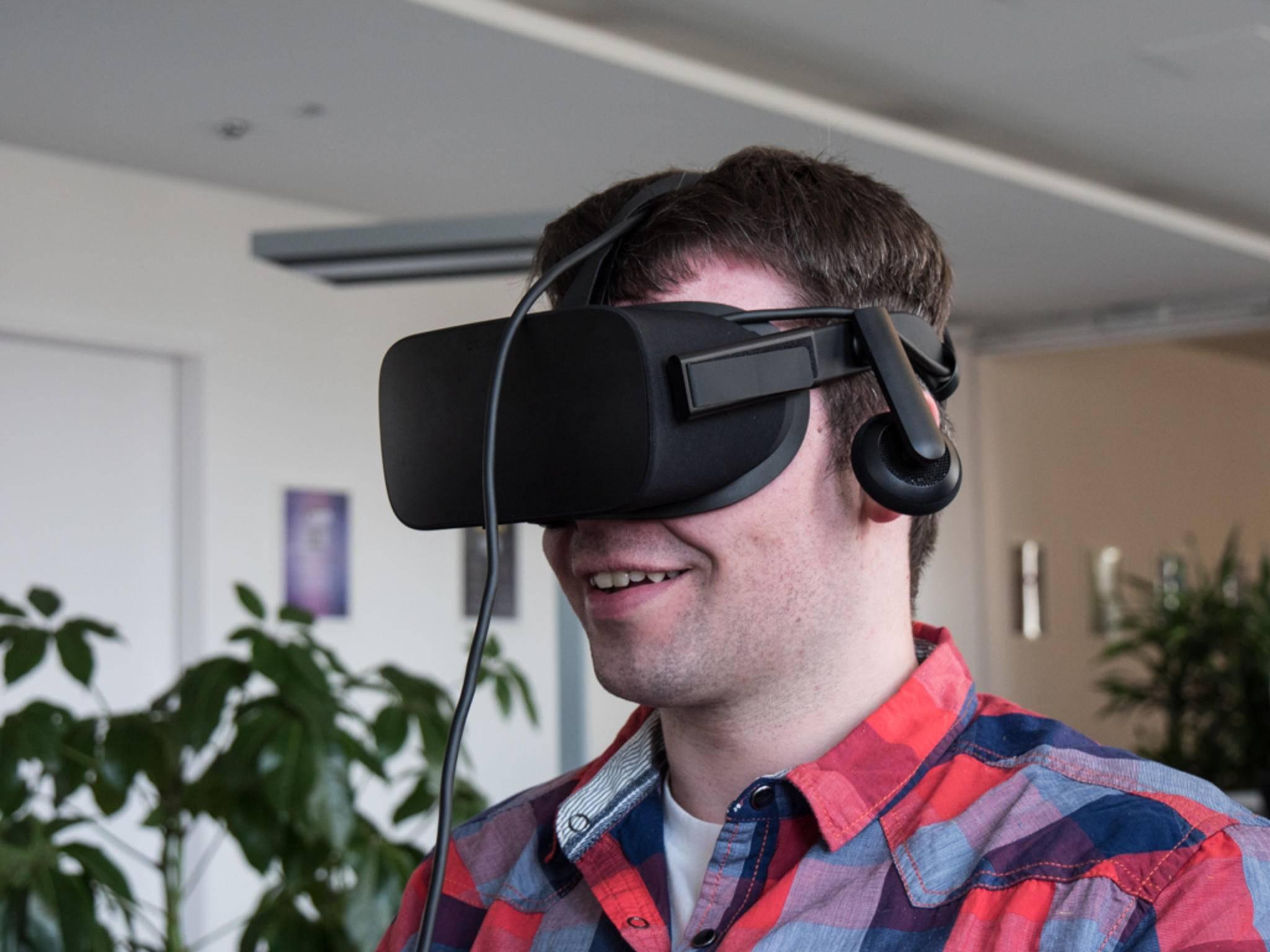 Die Oculus Rift ist da - und sie ist ziemlich gut.