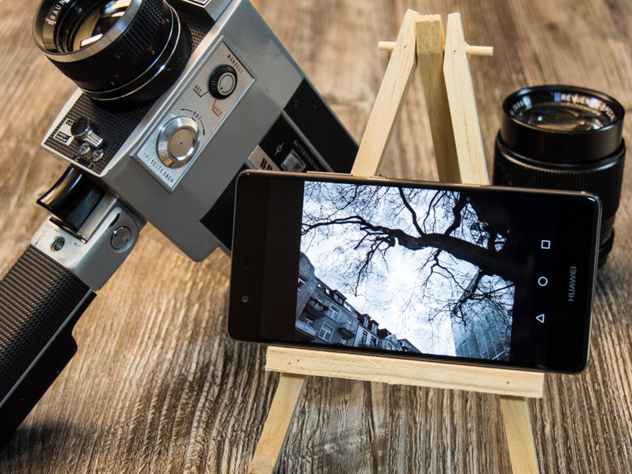 Das Huawei P9 wirbt mit seiner Dual-Kamera und Leica-Beteiligung.