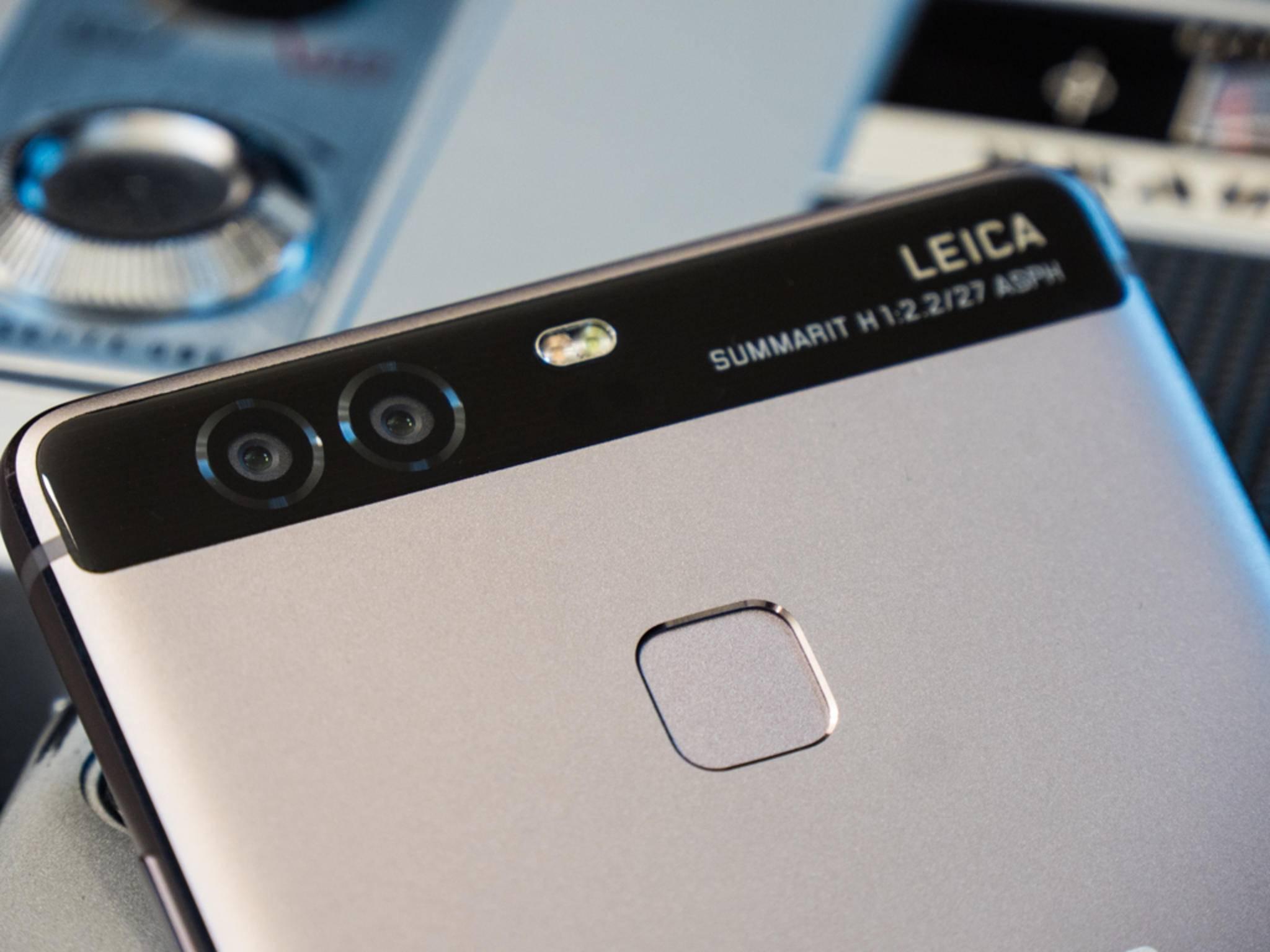 Der Fingerabdrucksensor soll beim Huawei P10 auf die Frontseite wandern.