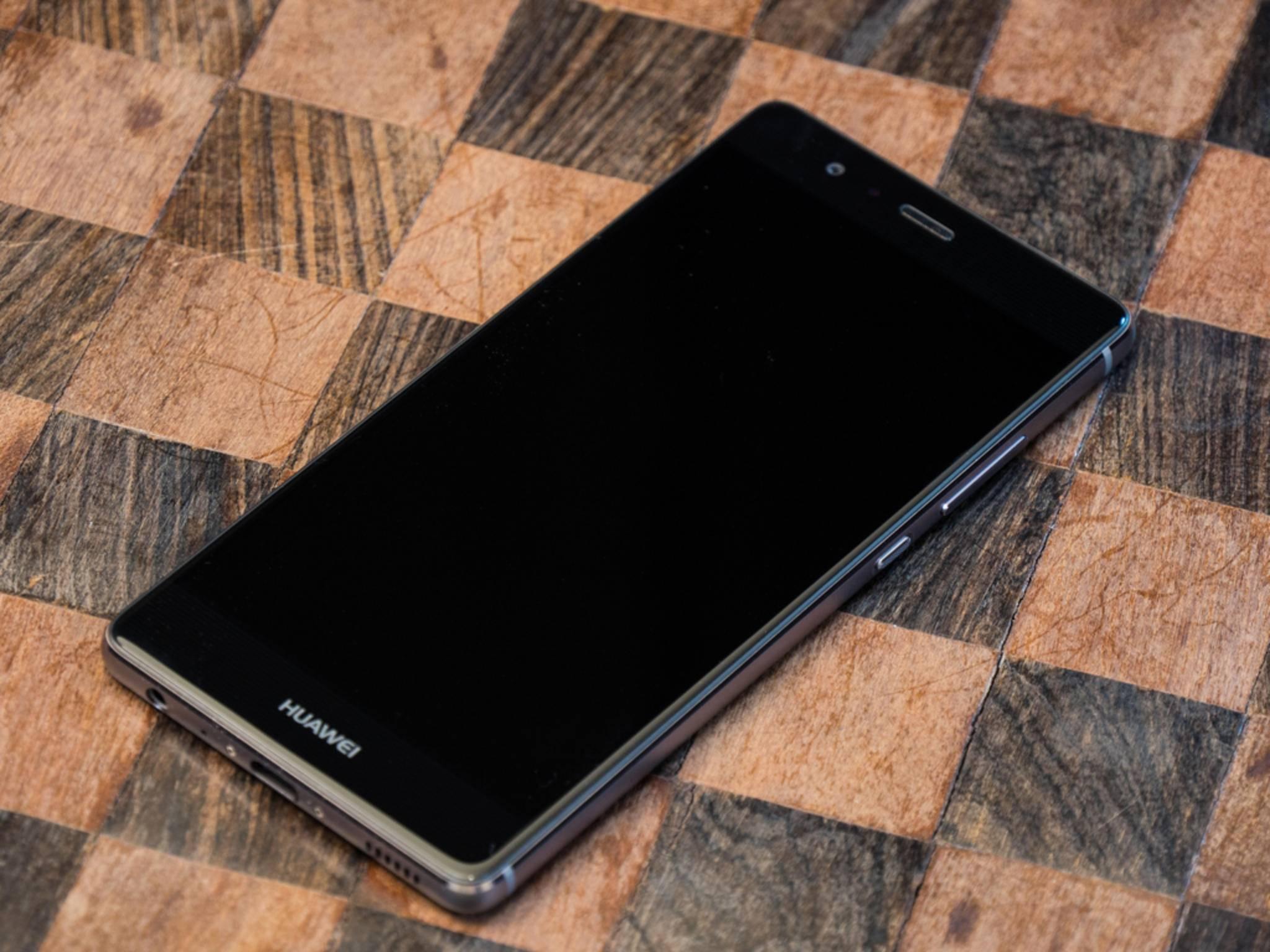 Das Design des Huawei P9 ist schlicht und elegant.