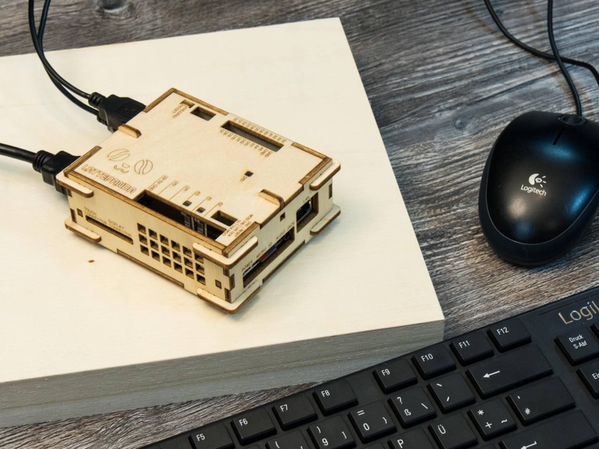 Der Lattepanda ist ein Mini-PC, der bei Kickstarter finanziert wurde.