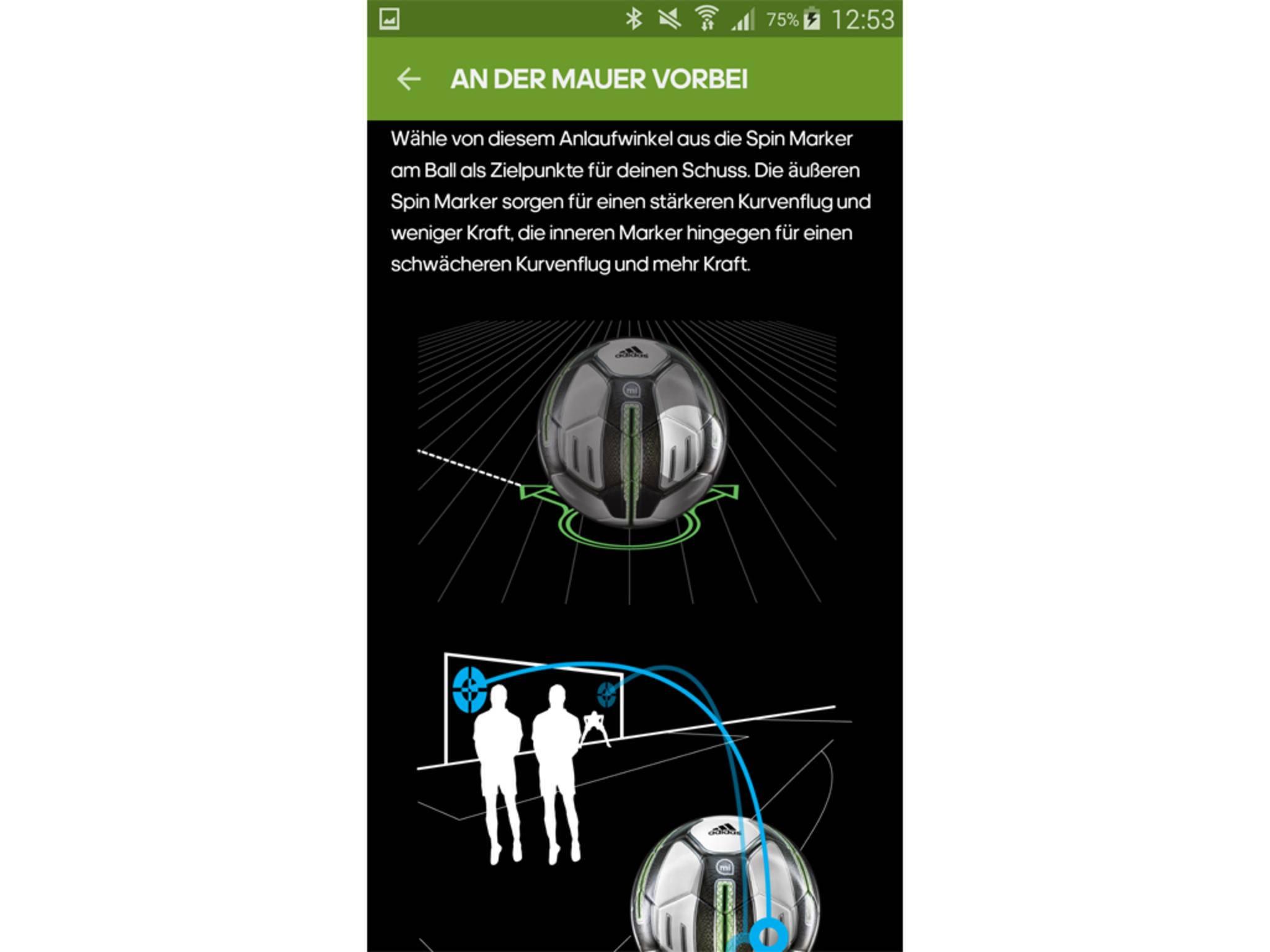 Adidas miCoach Smart Ball App 10