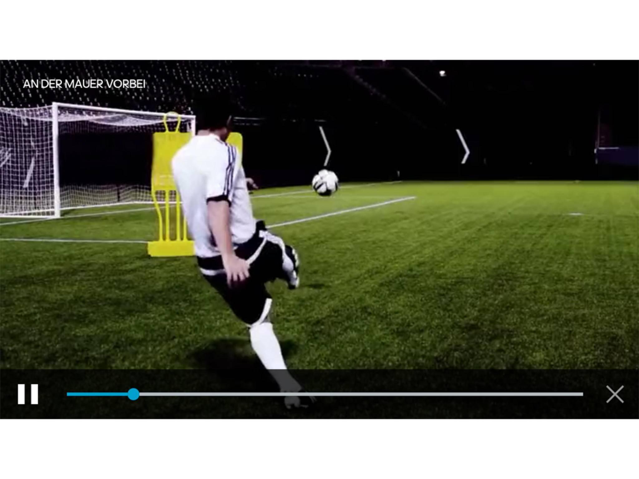 Adidas miCoach Smart Ball App 11