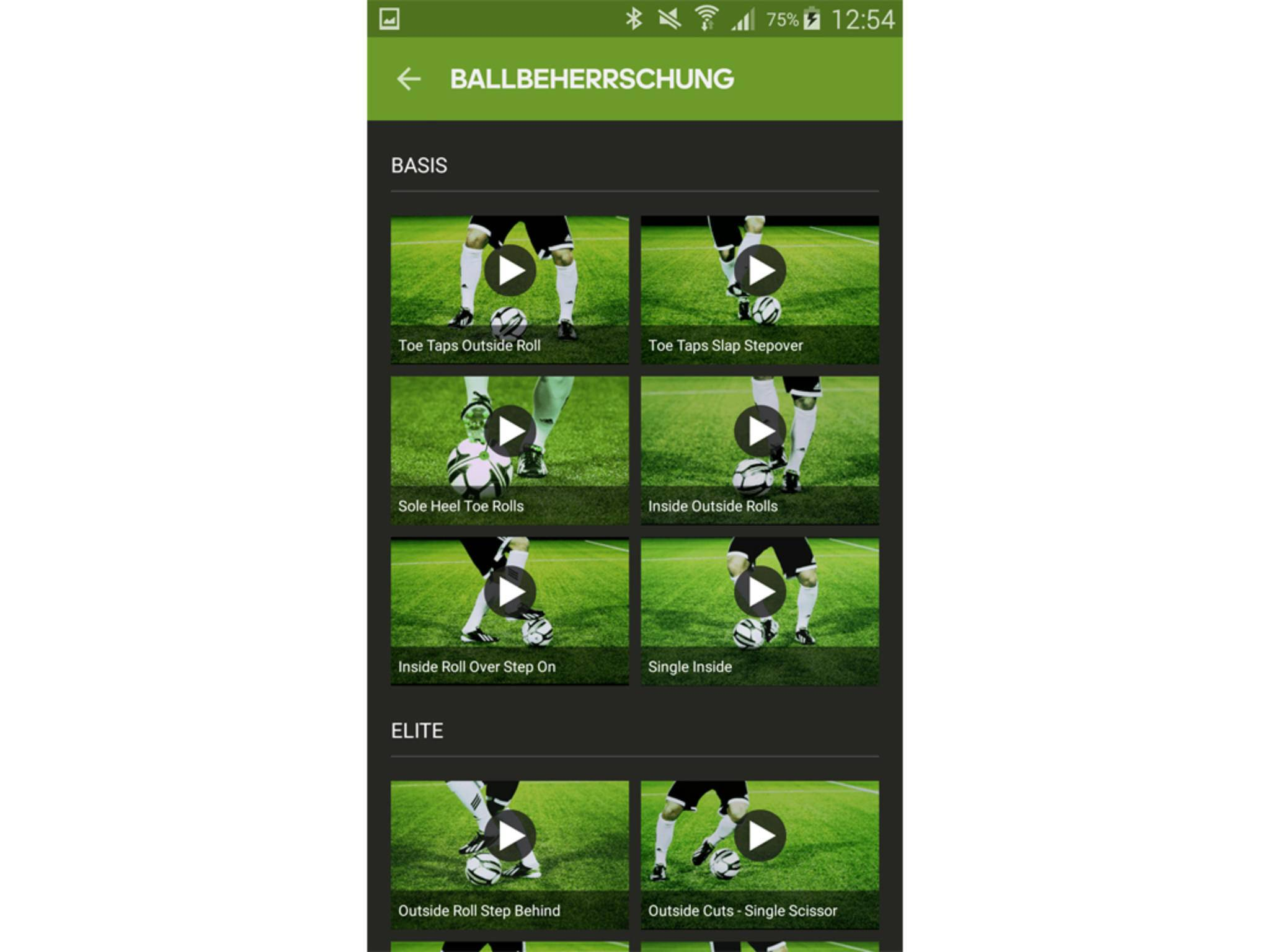 Adidas miCoach Smart Ball App 12