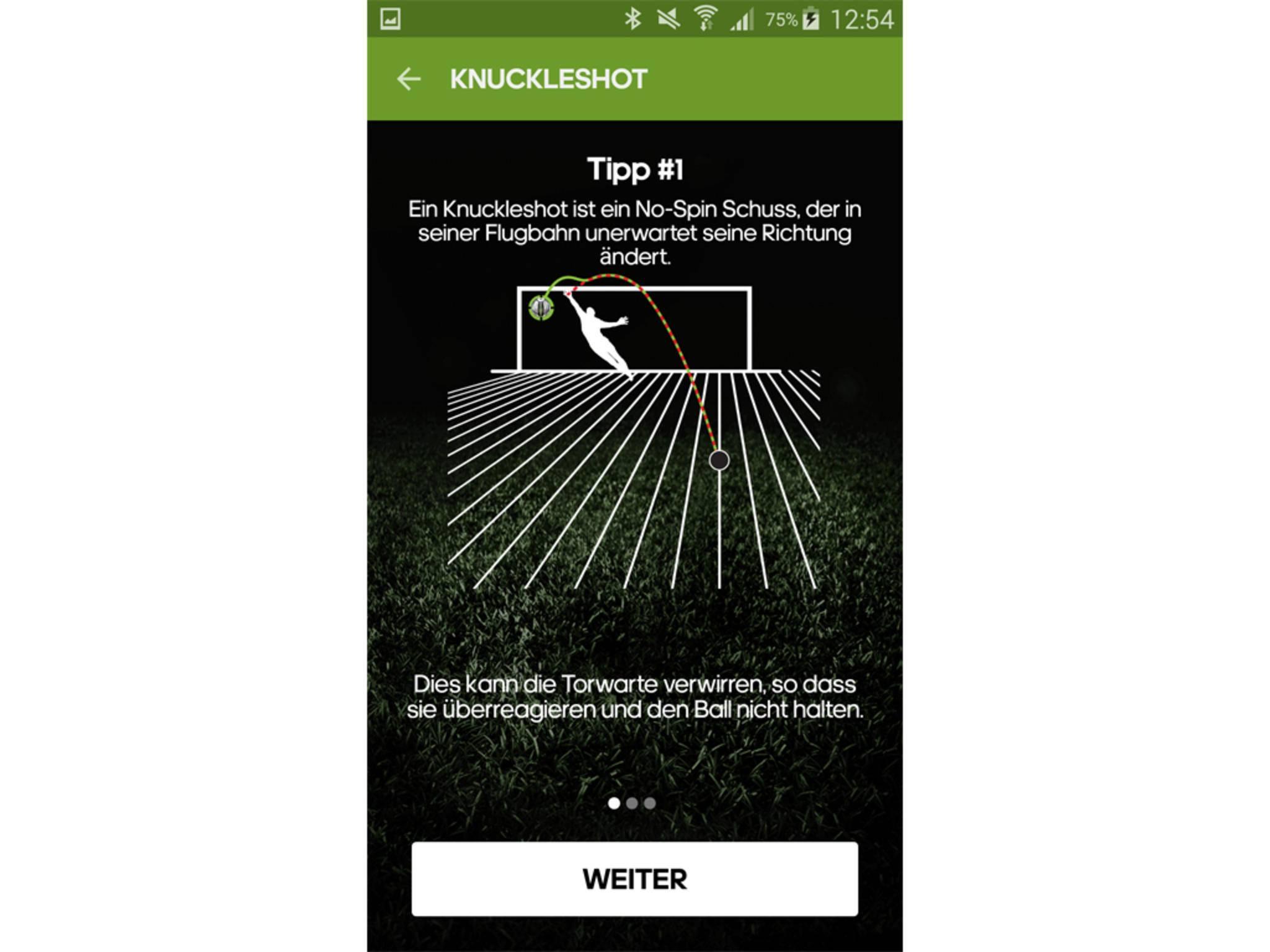 Adidas miCoach Smart Ball App 13
