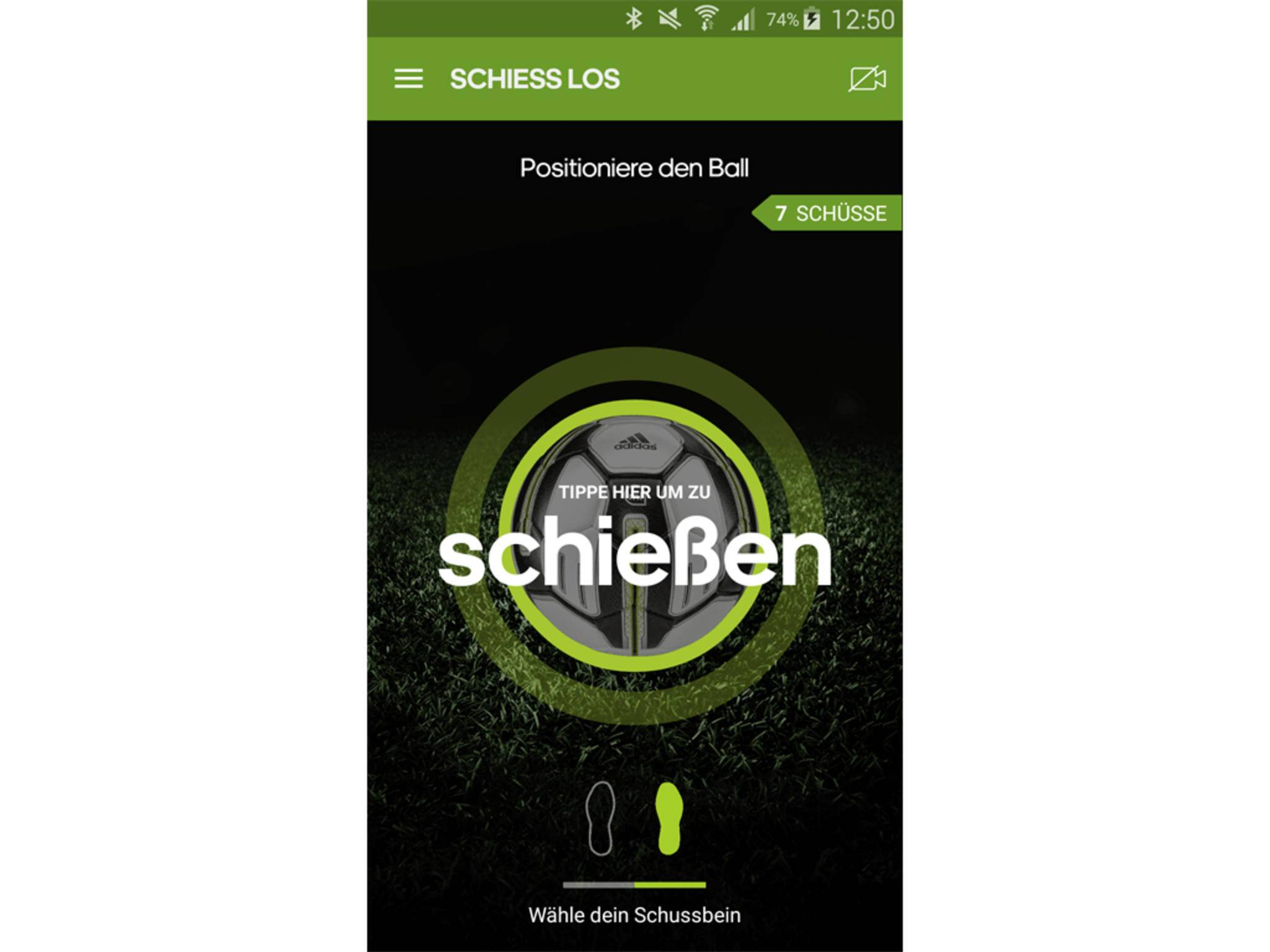 Adidas miCoach Smart Ball App 19