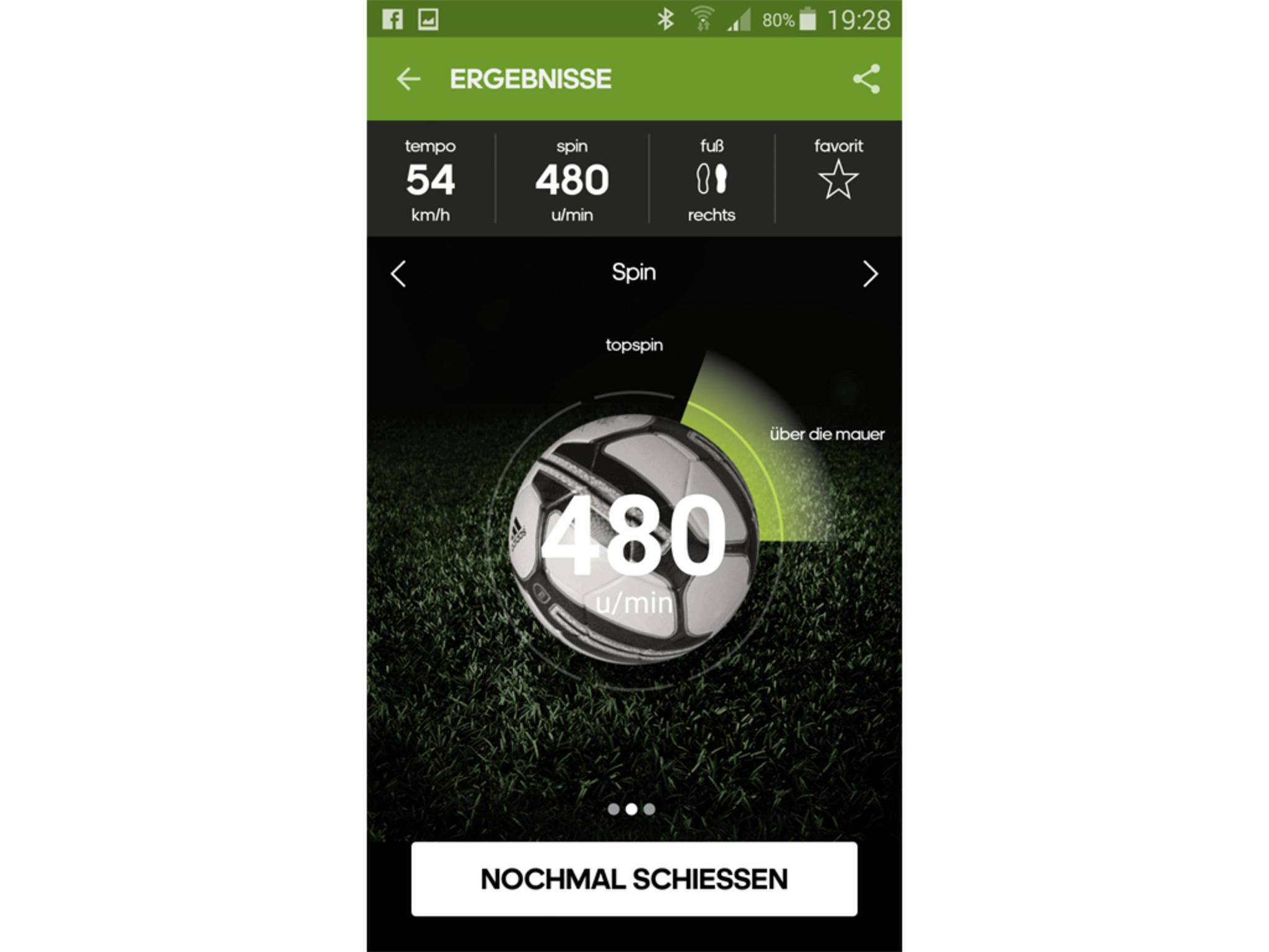 Adidas miCoach Smart Ball App 3