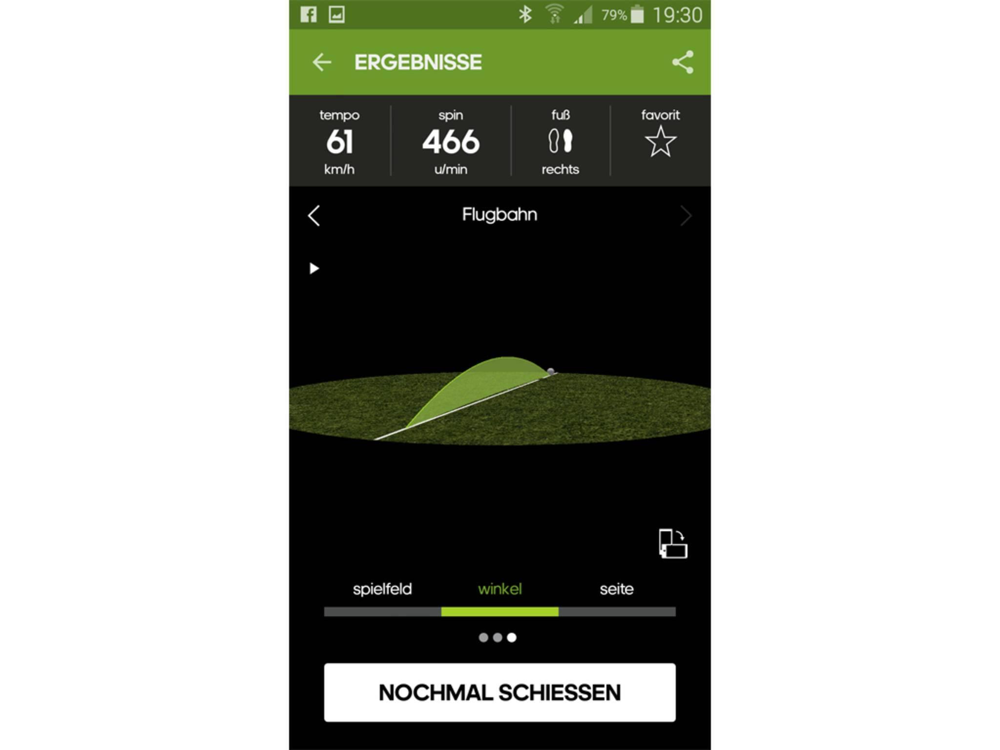 Adidas miCoach Smart Ball App 4