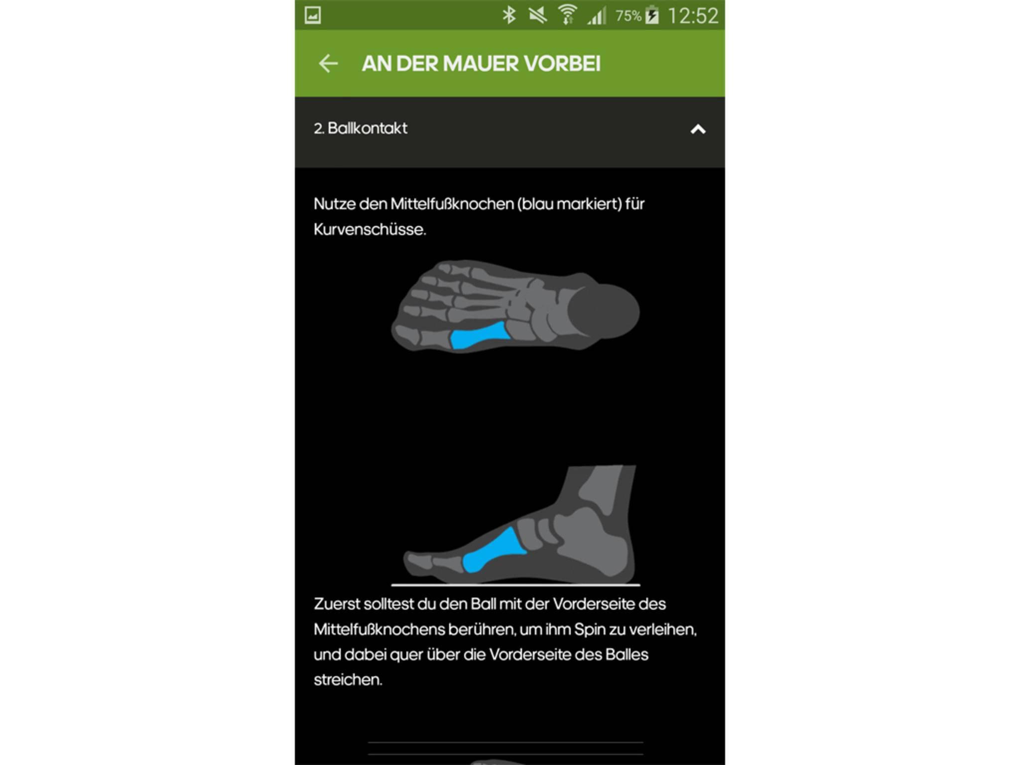 Adidas miCoach Smart Ball App 9