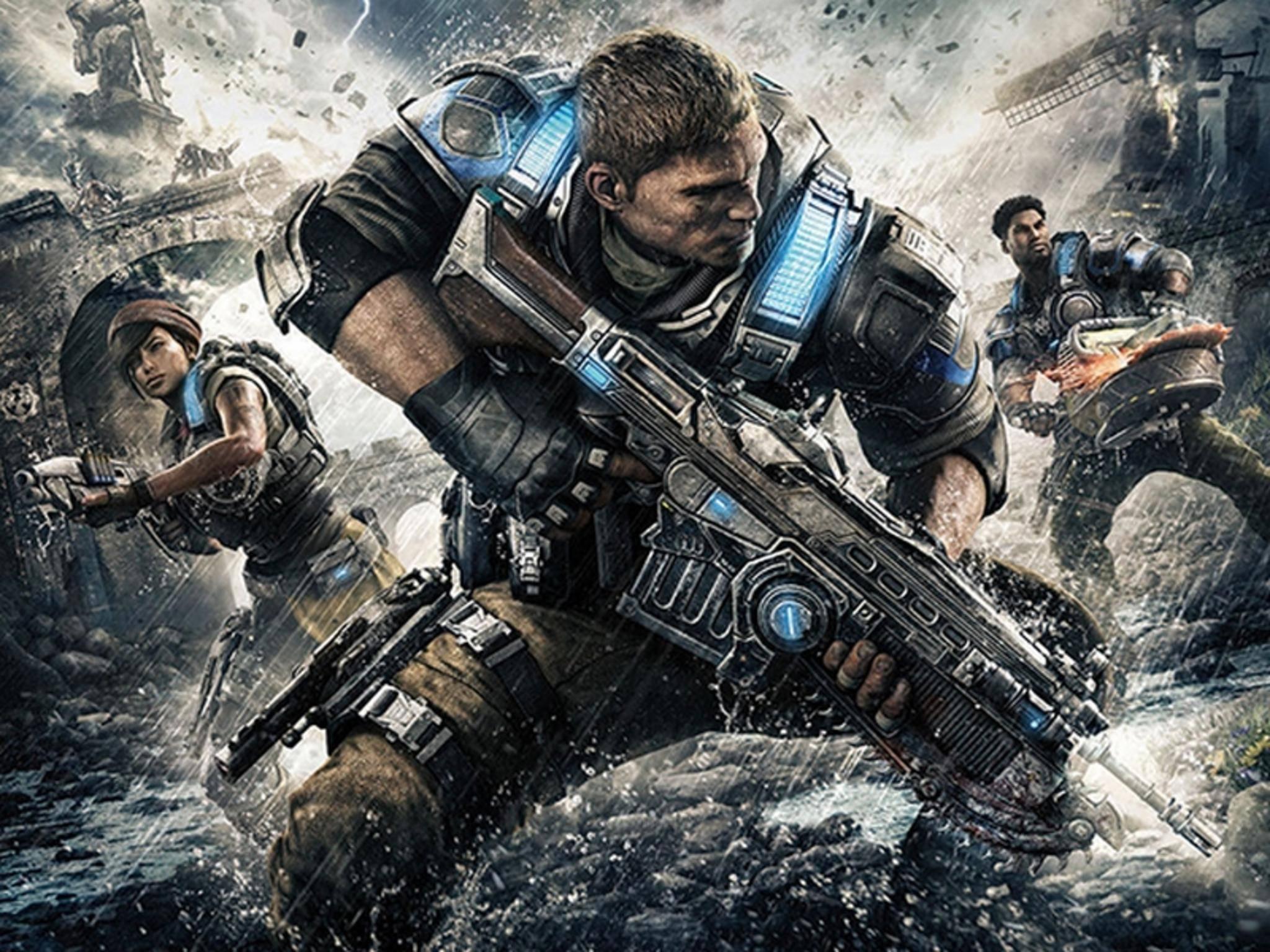 """""""Gears of War 4"""" will auf dem PC ein Feature-Feuerwerk abfeuern."""