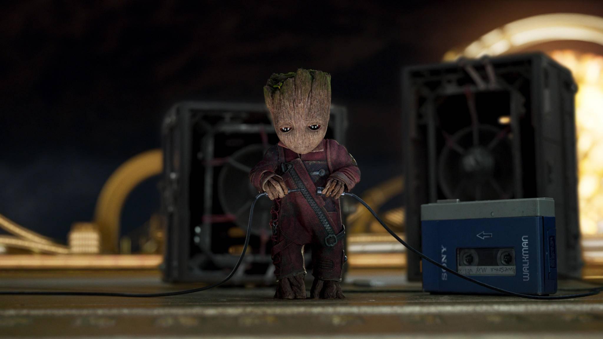 Baby-Groot ist ohne Frage einer der Marvel-Lieblinge 2017.