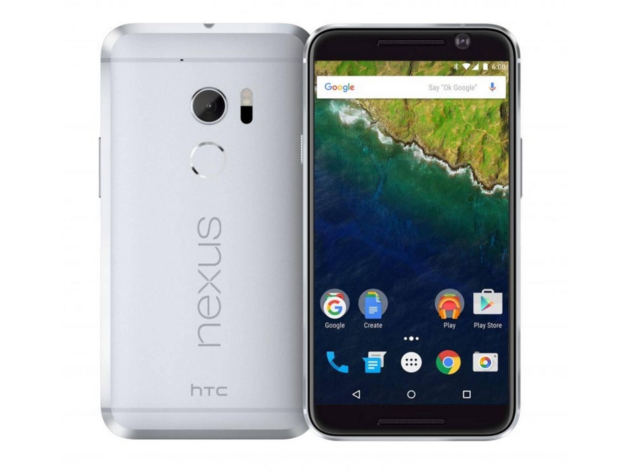 So könnte ein HTC Nexus aussehen – oder auch nicht.