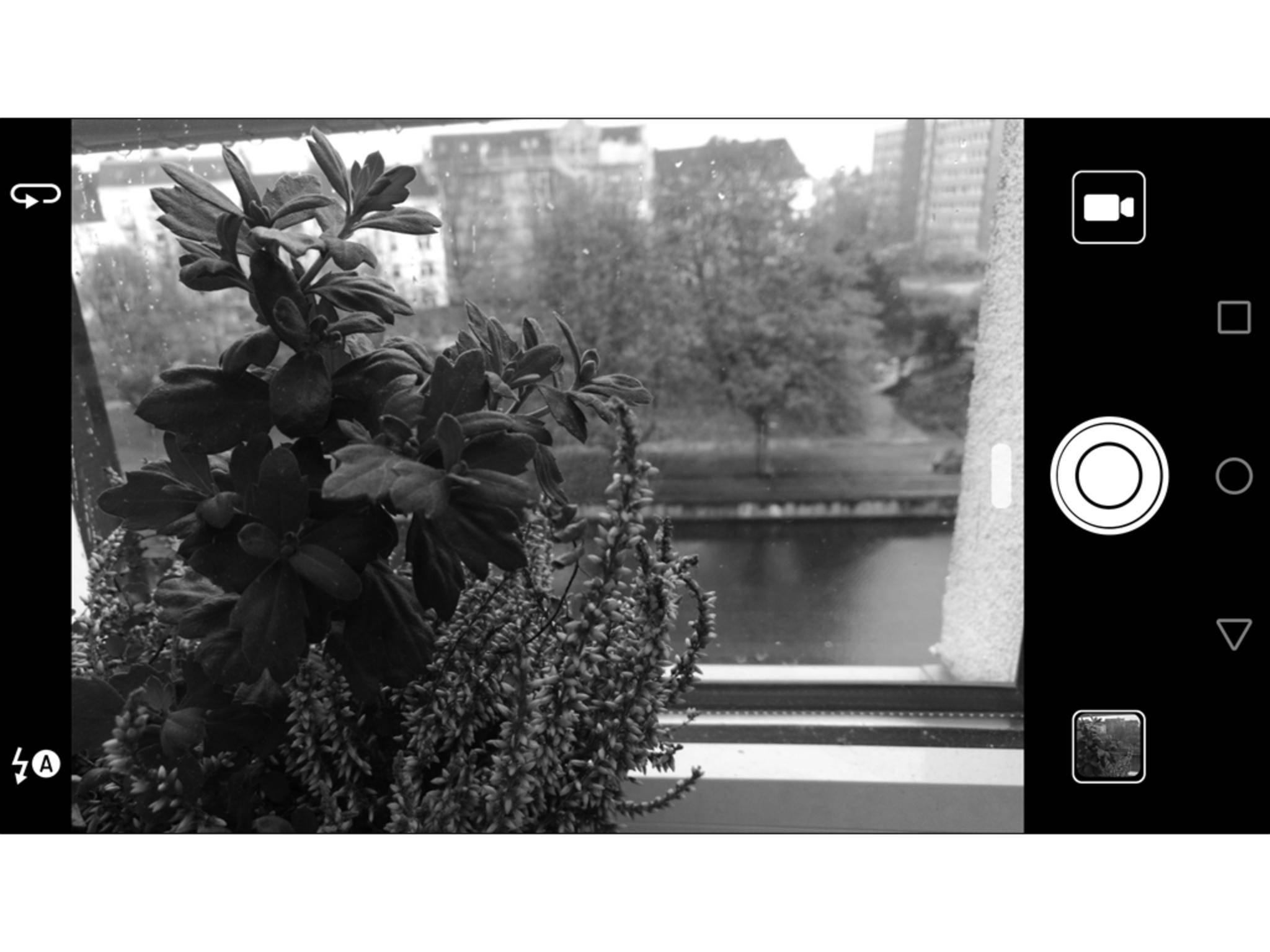 Dann entstehen Fotos ausschließlich in Schwarz-Weiß.