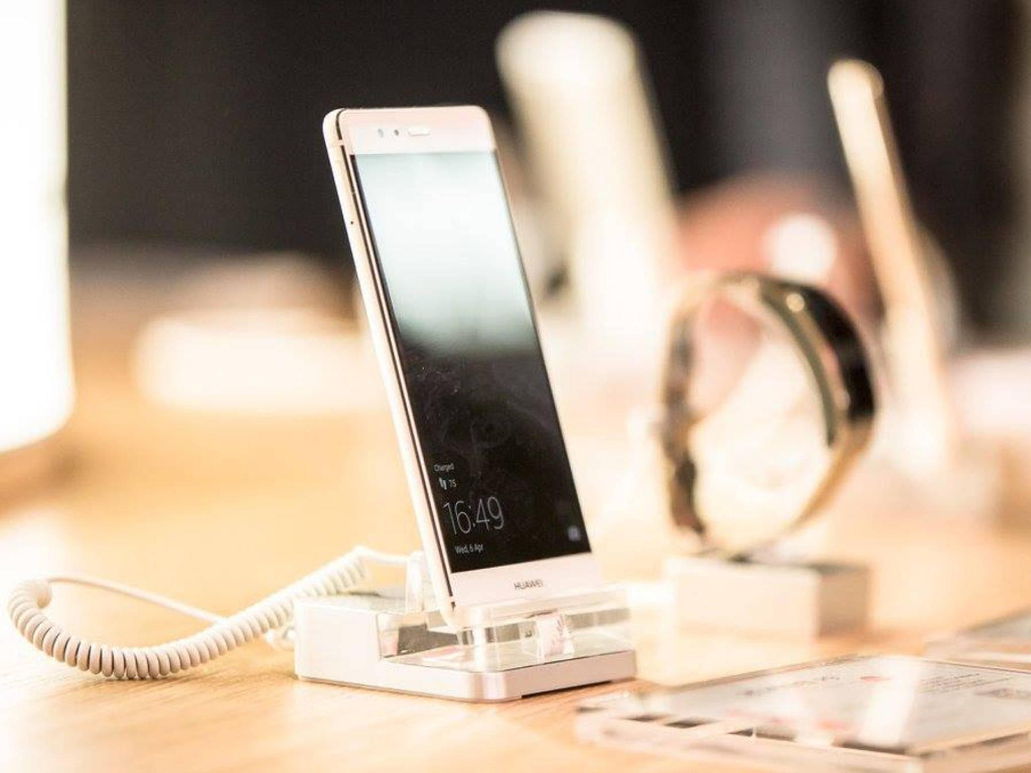 Das Huawei P9 hat eine Dual-Kamera auf der Rückseite.