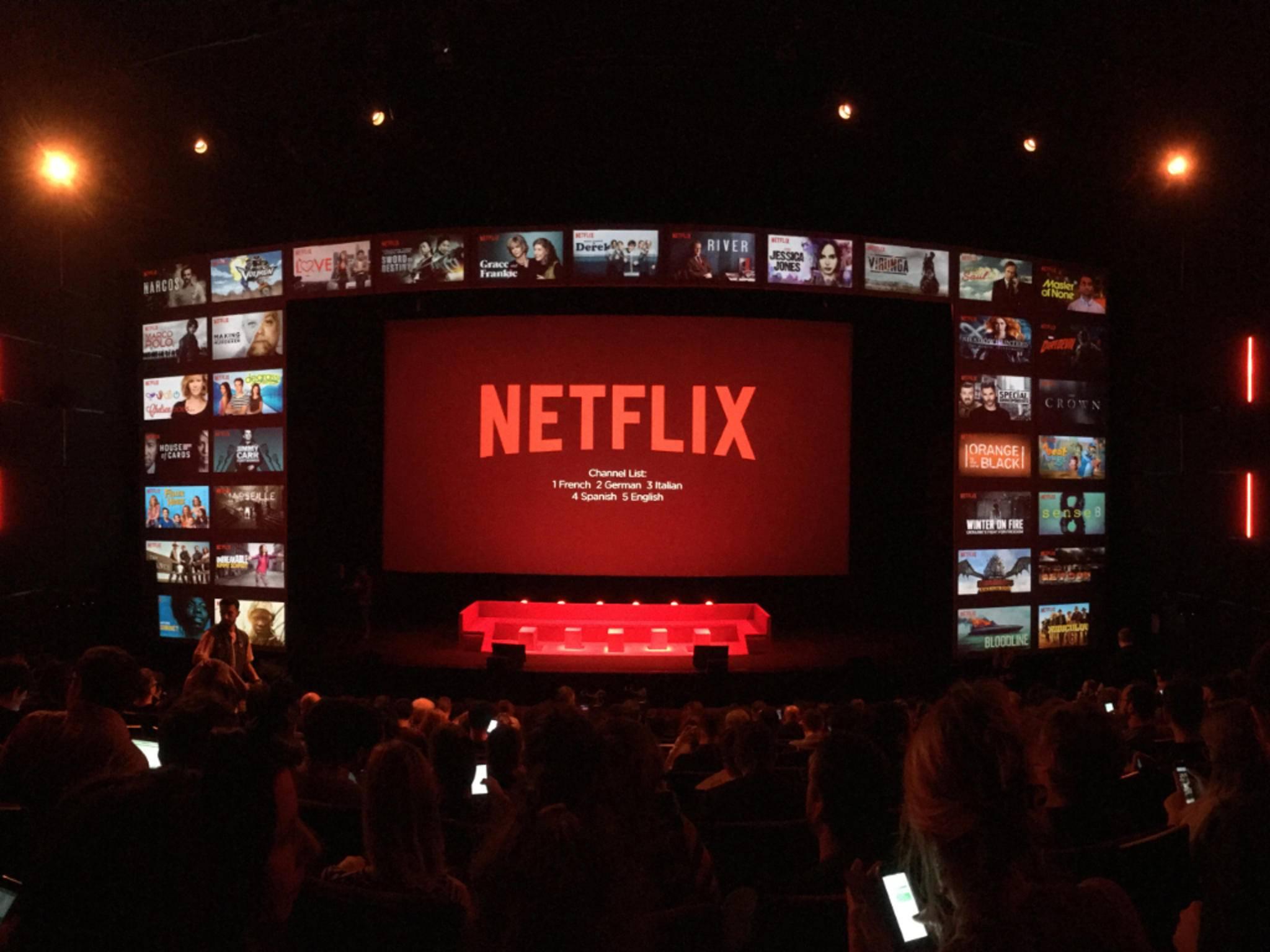 Alex war beim Netflix-Event in Paris...