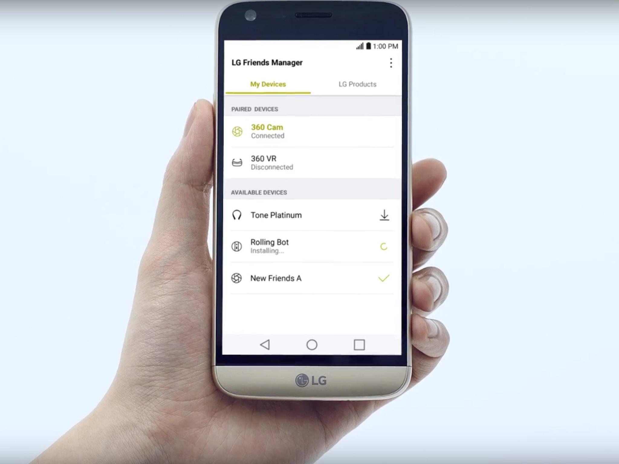 Das LG G5 ist aufgrund seiner modularen Bauweise recht einfach zu reparieren.