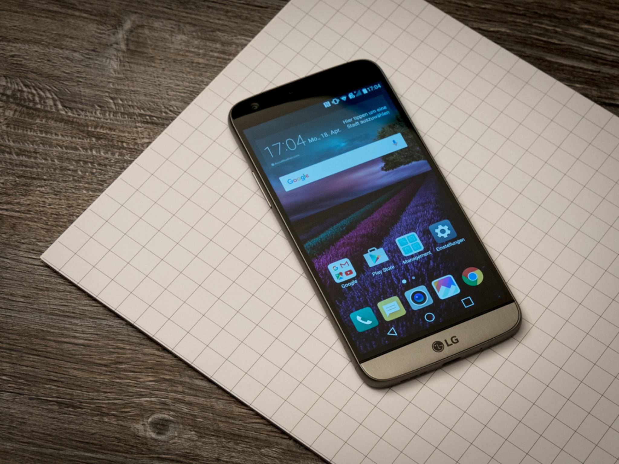 Der Nachfolger des LG G5 bekommt wohl einen Iris-Scanner.