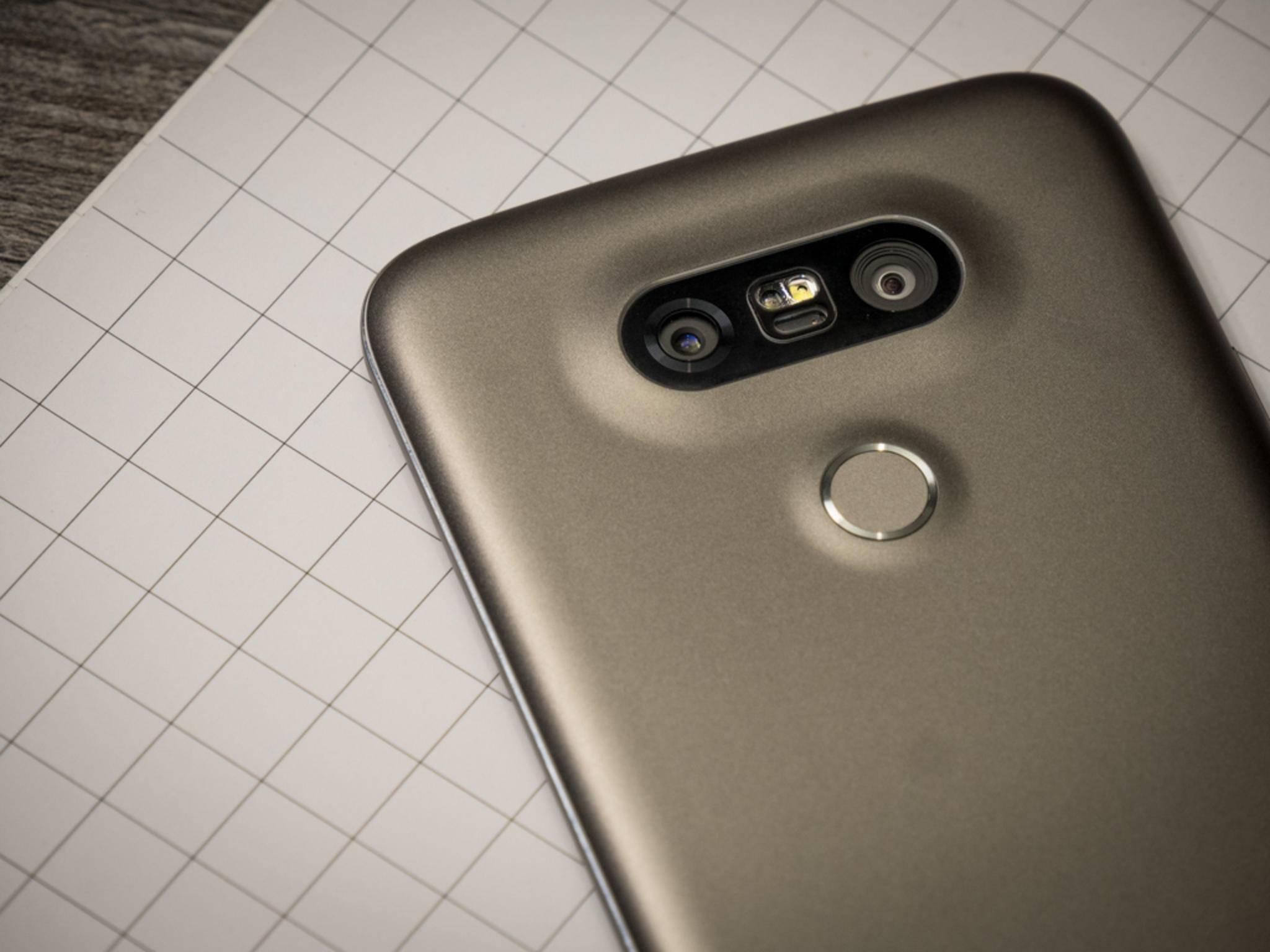LG könnte sich bald vom Fingerabdrucksensor auf der Rückseite verabschieden.