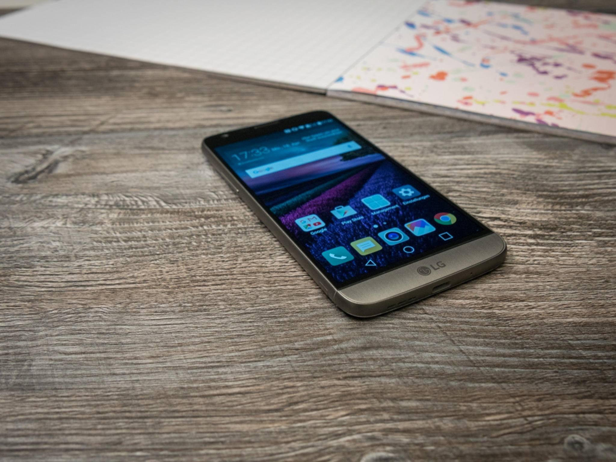 Das LG G5 bekommt nachträglich einen App-Drawer.