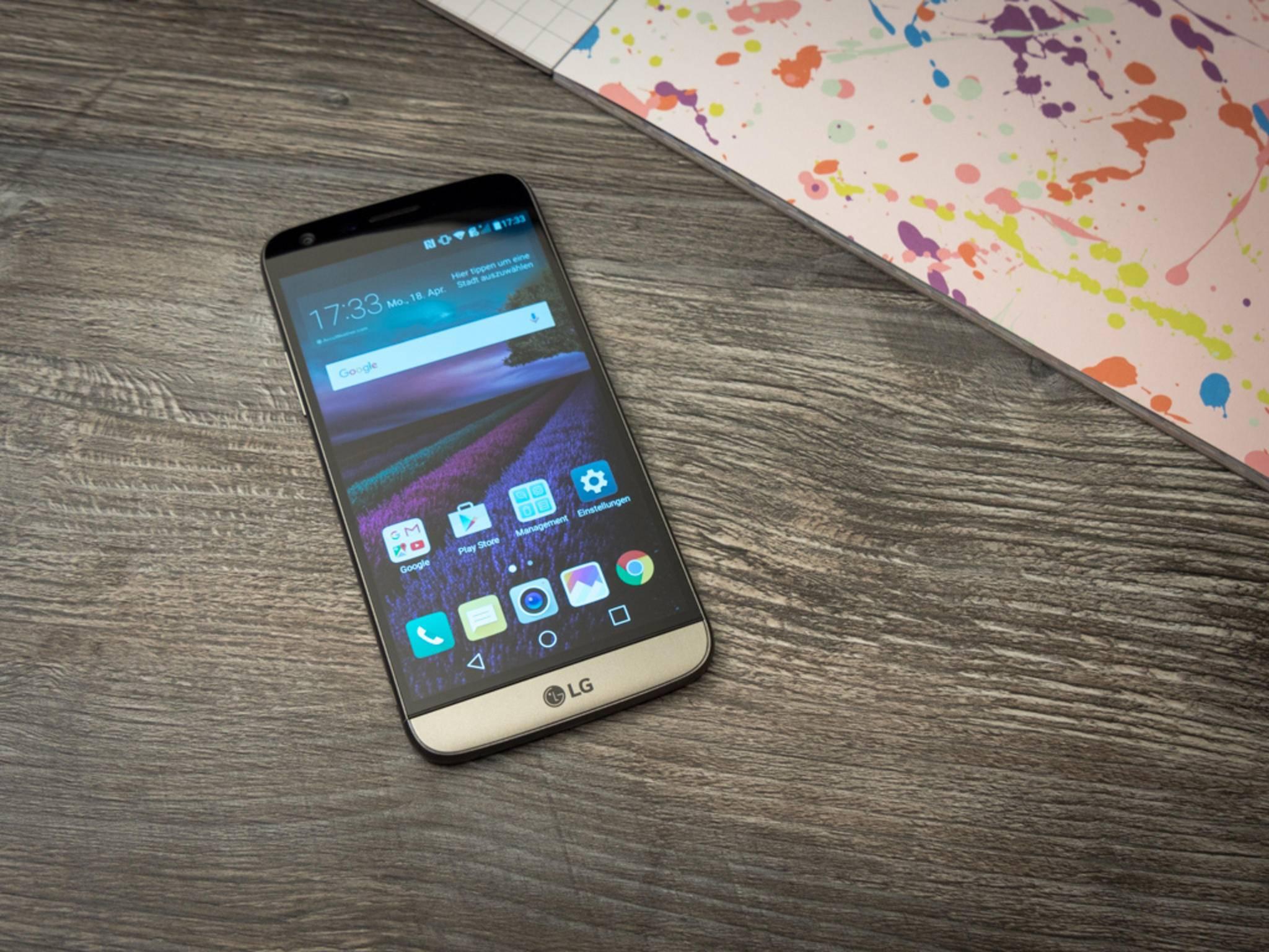Das LG G5 will die Käufer mit Sonder-Features überzeugen.