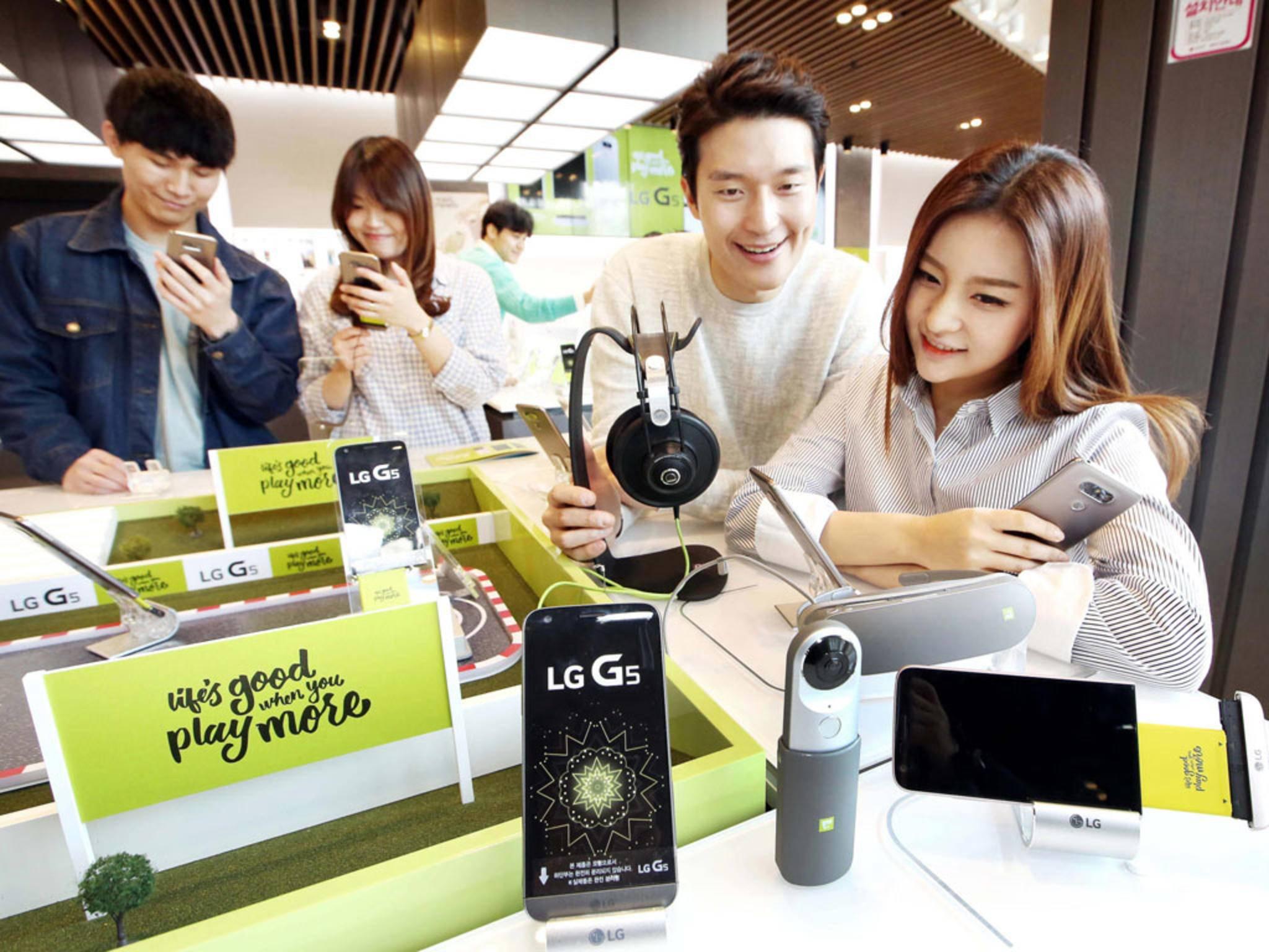 Das LG G5 bekommt vermutlich eine SE-Variante.